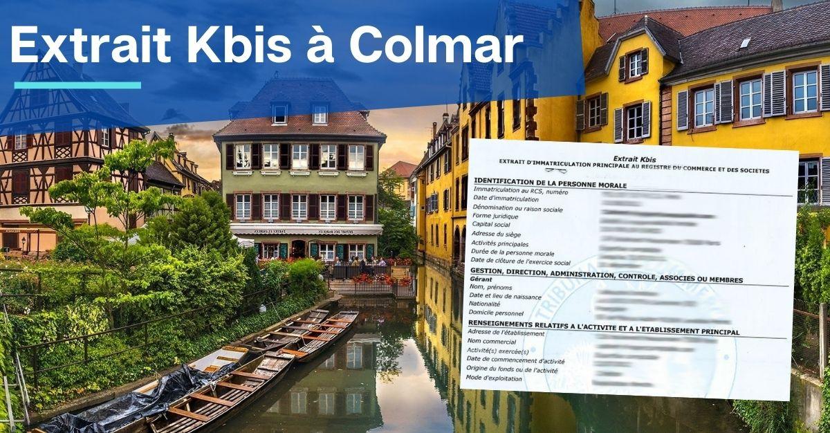 Extrait Kbis à Colmar