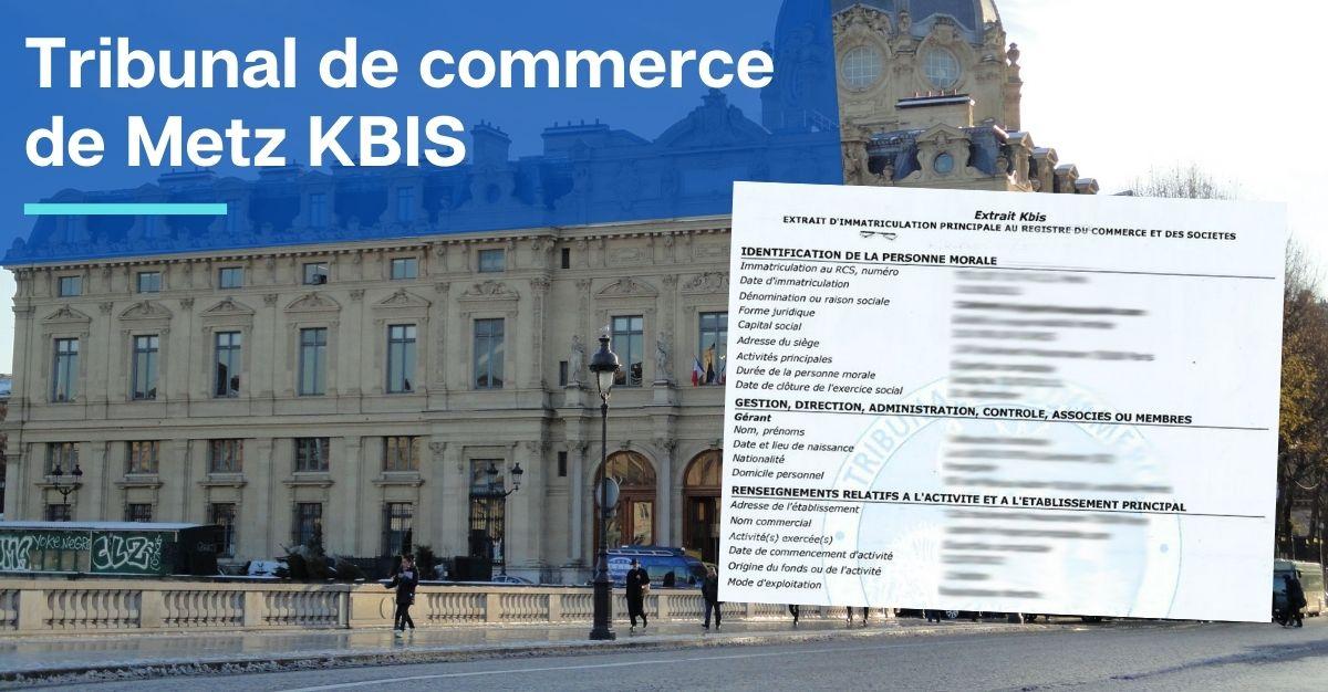 Tribunal de commerce de Metz KBIS