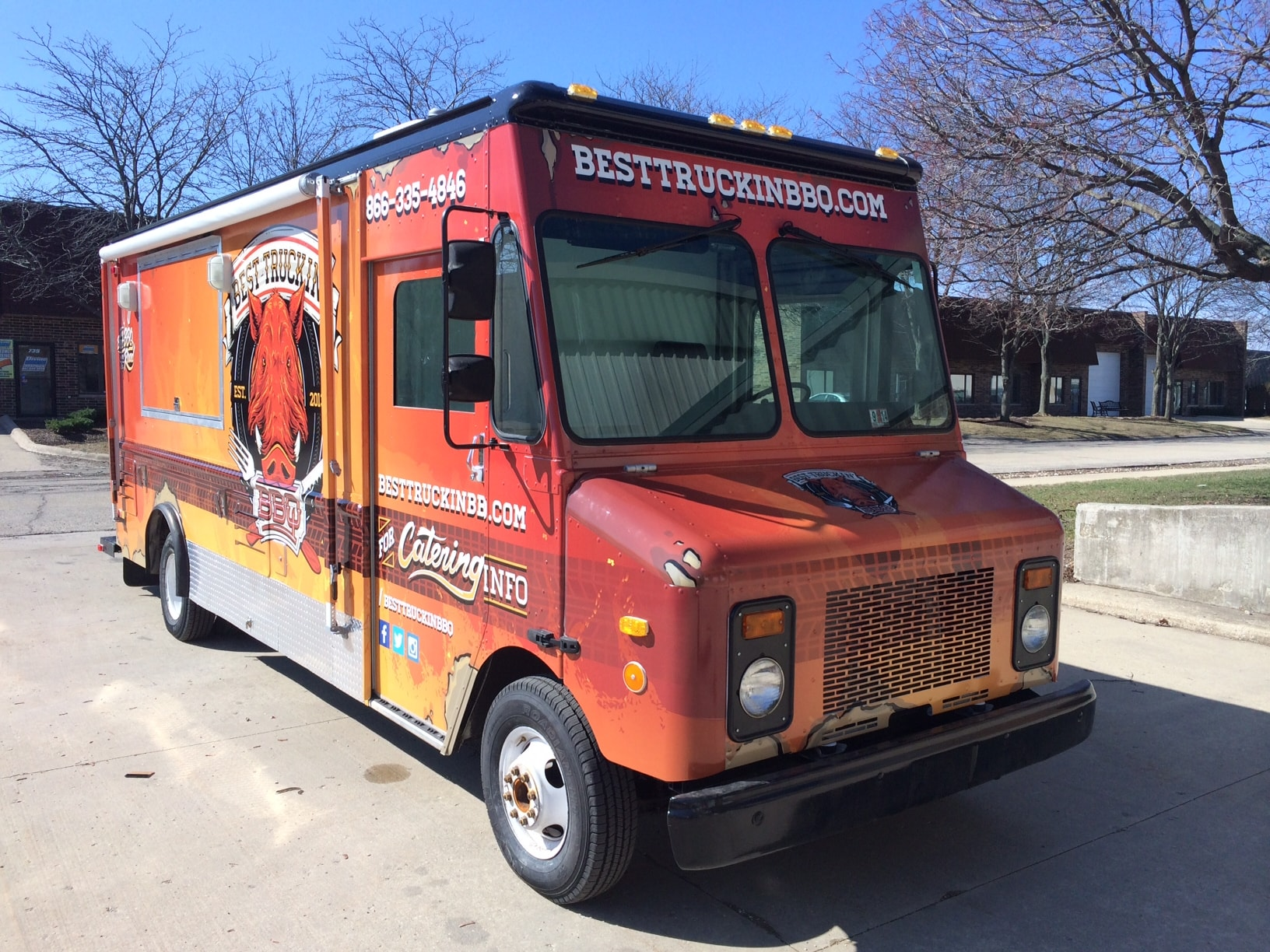 Best Truck in BBQ Truck Wrap