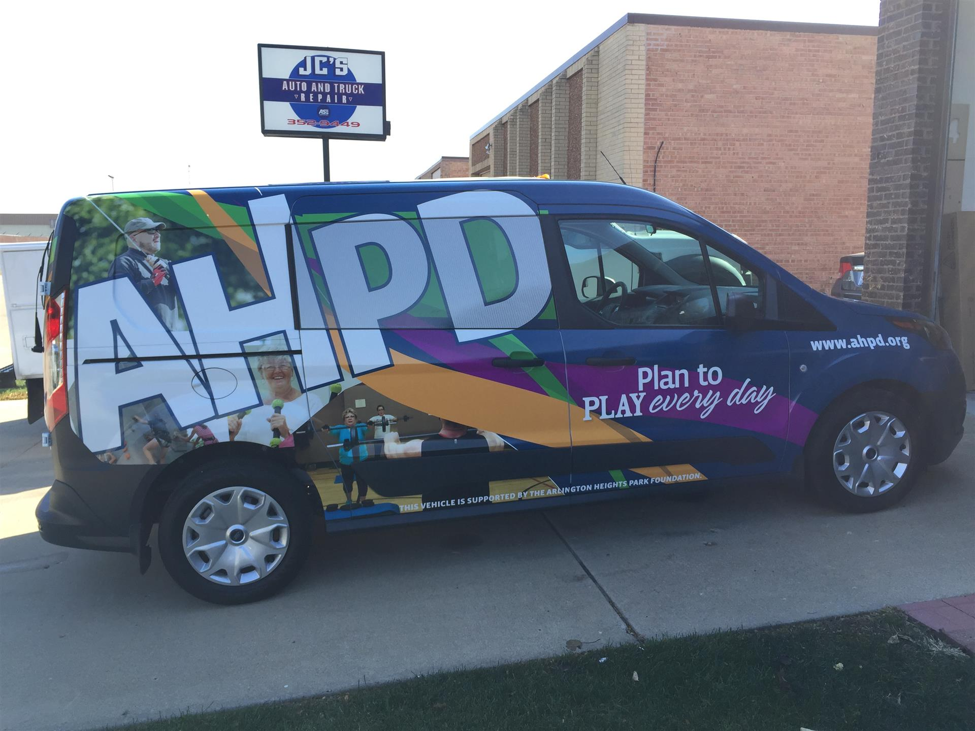 AHPD Vehicle Wrap