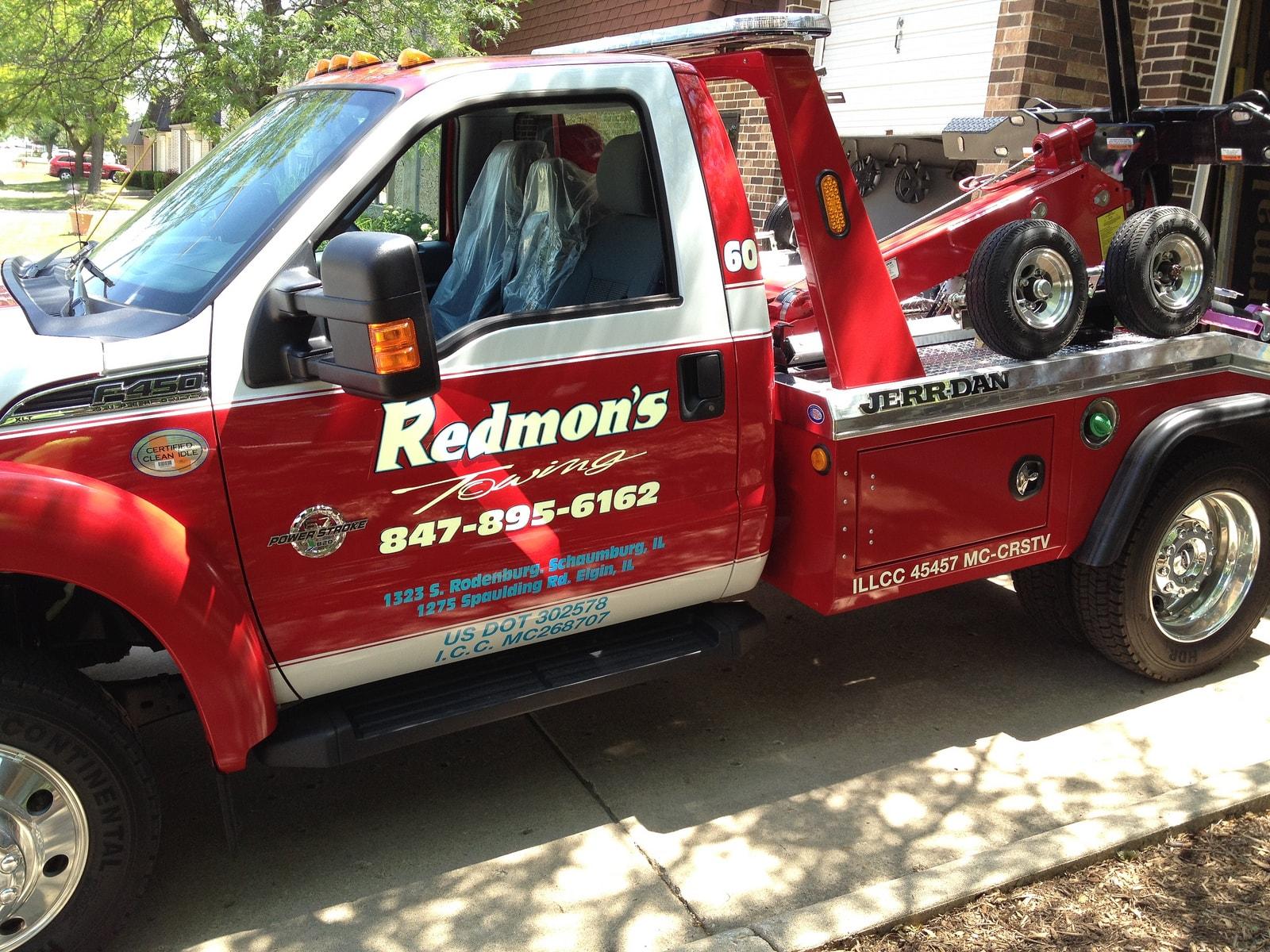 Redmon's Towing Truck Wrap