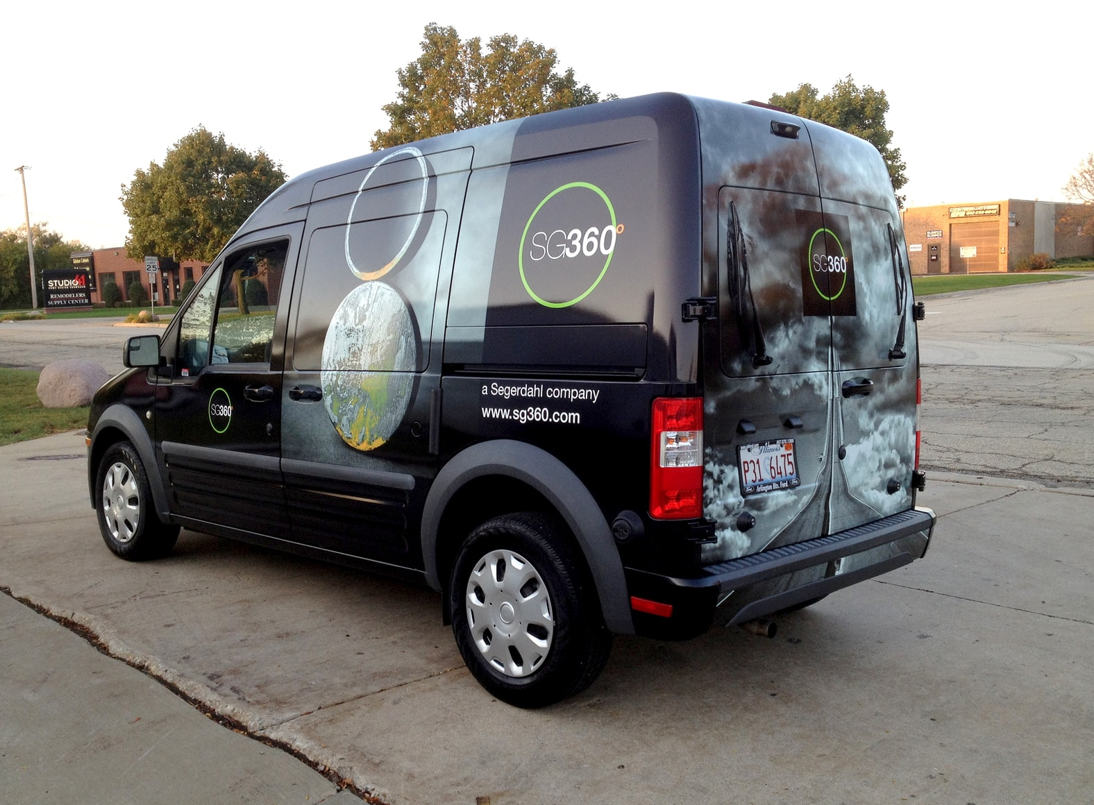 SG 360 Vehicle Wrap