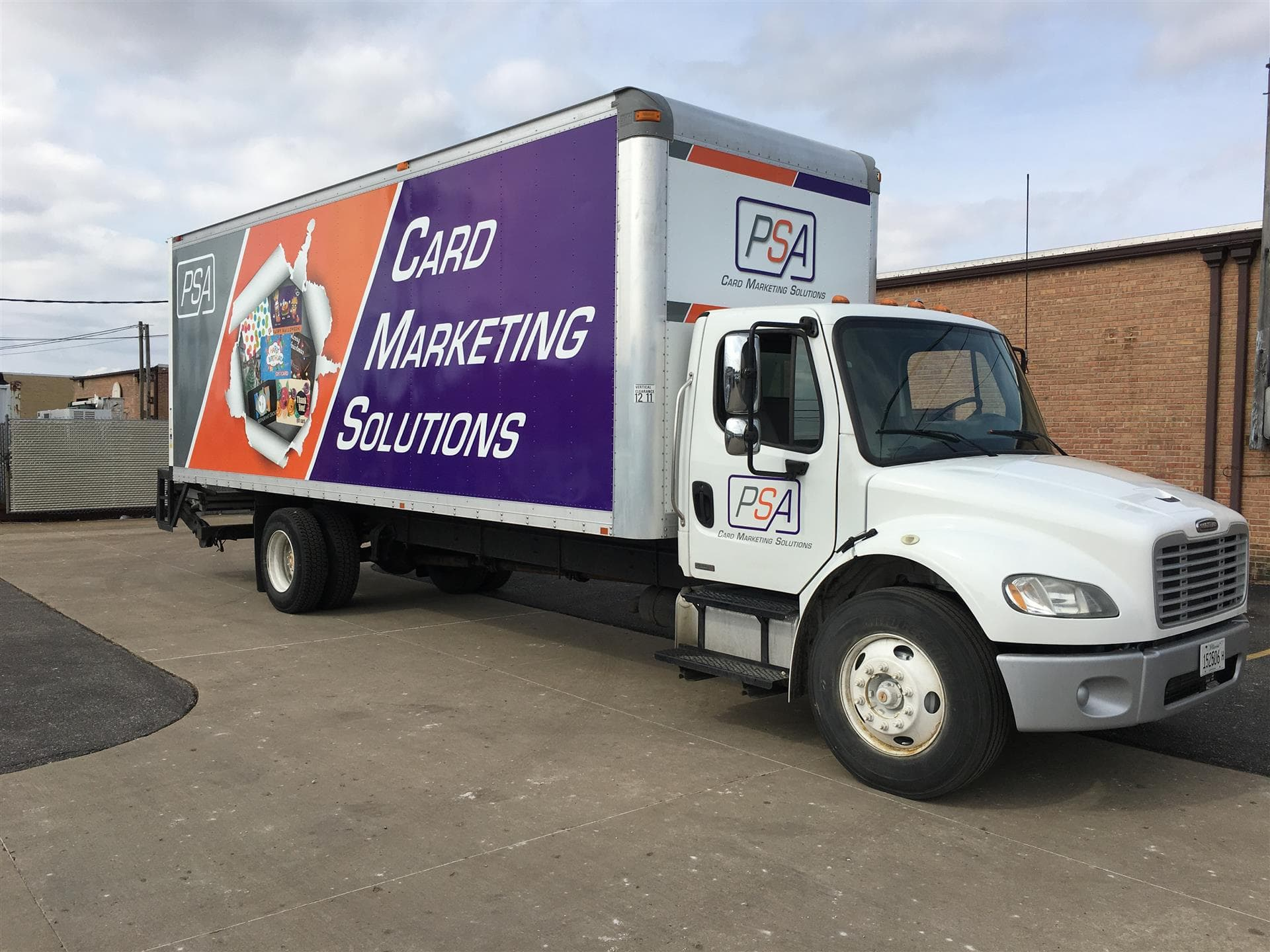 Card Marketing Solutions Truck Wrap