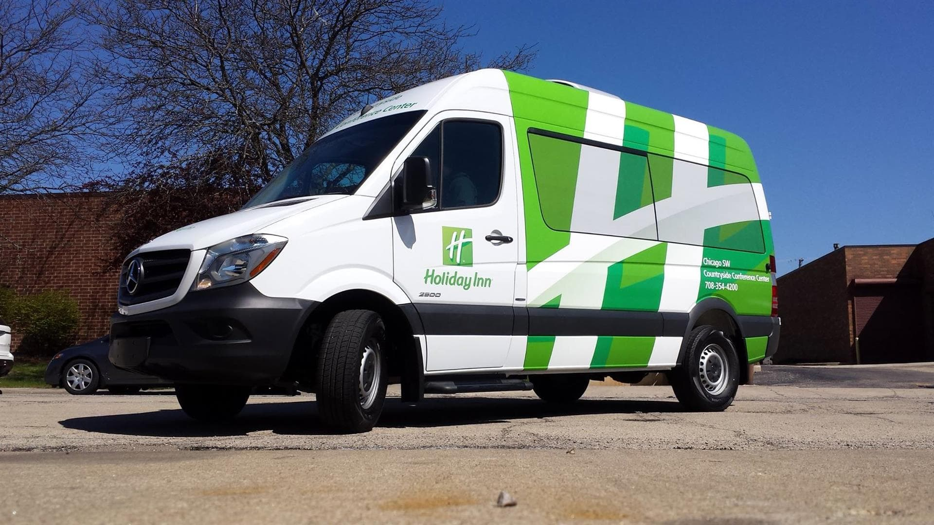 Holiday Inn Vehicle Wrap