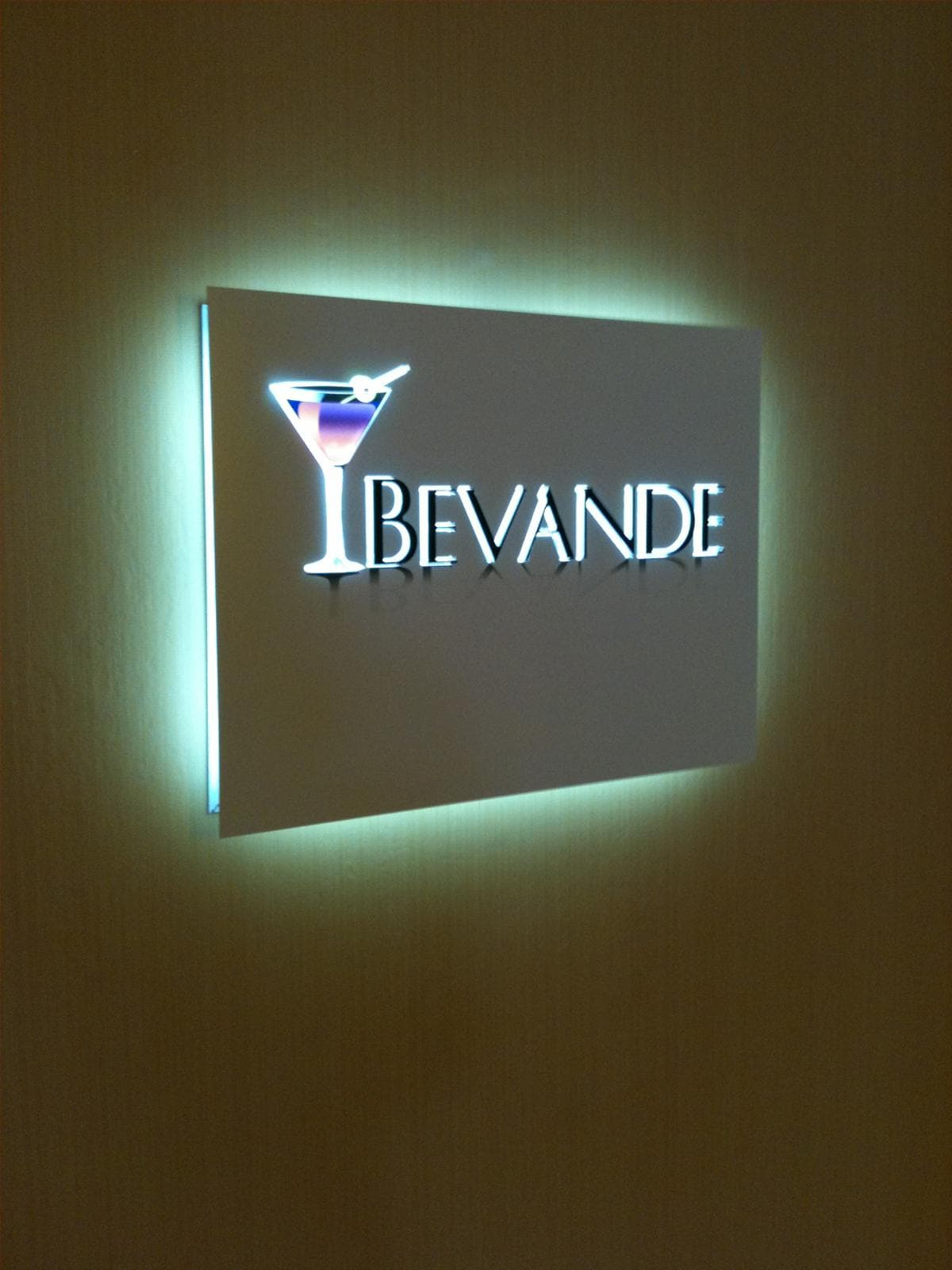 Devande Illuminated Wall Sign