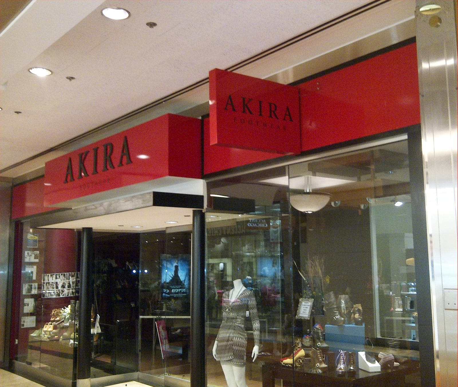 Akira Clothing Wall Sign