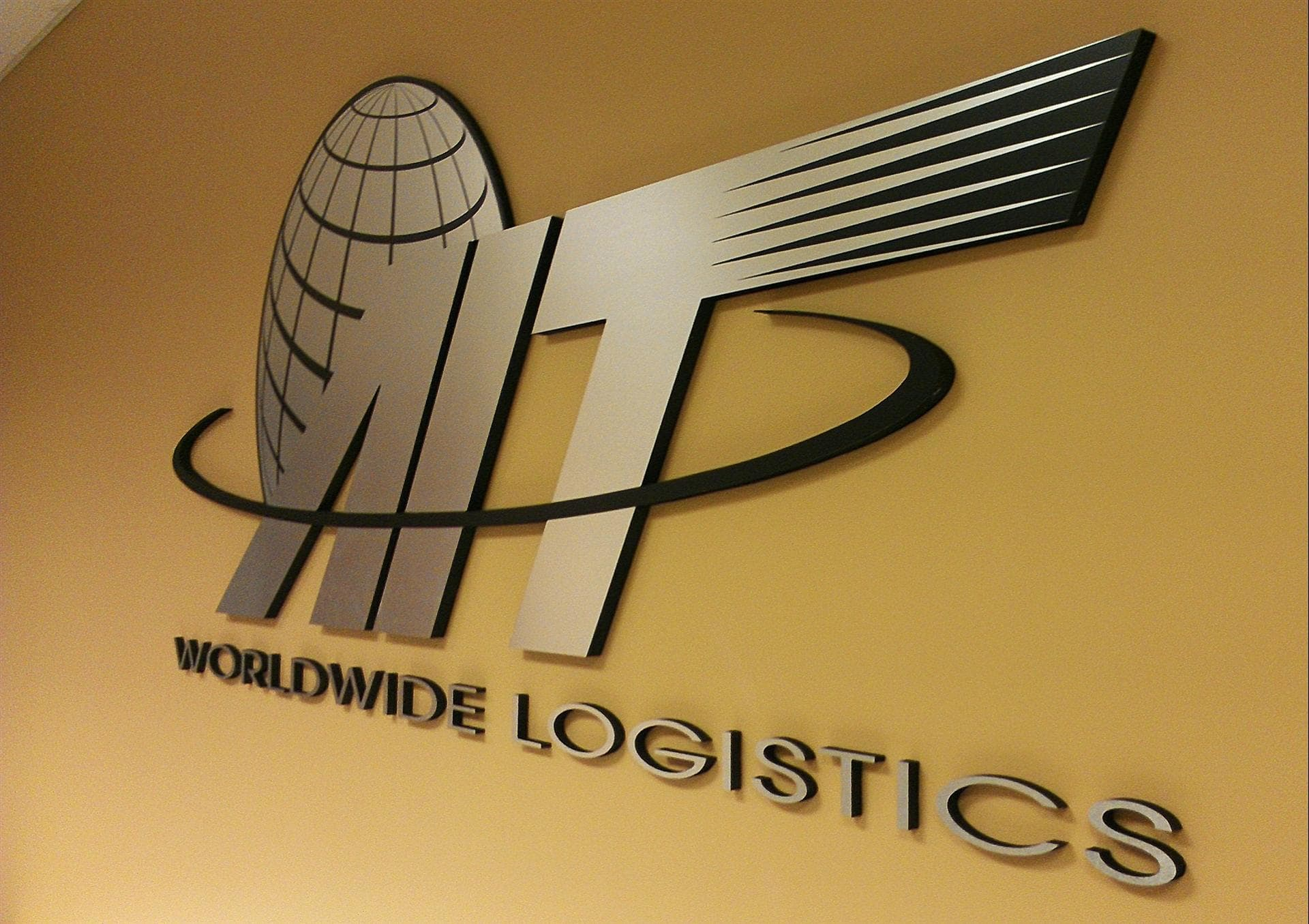 Worldwide Logistics Interior Sign