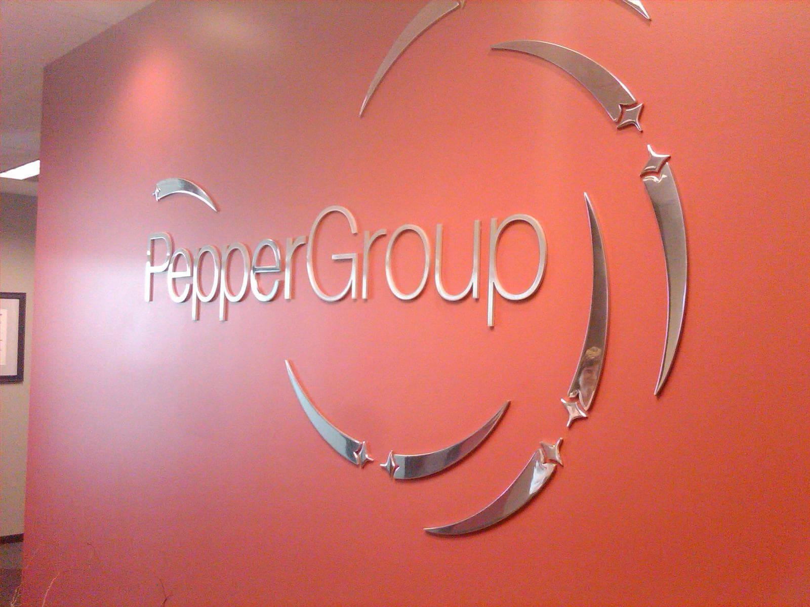 Pepper Group Wall Sign