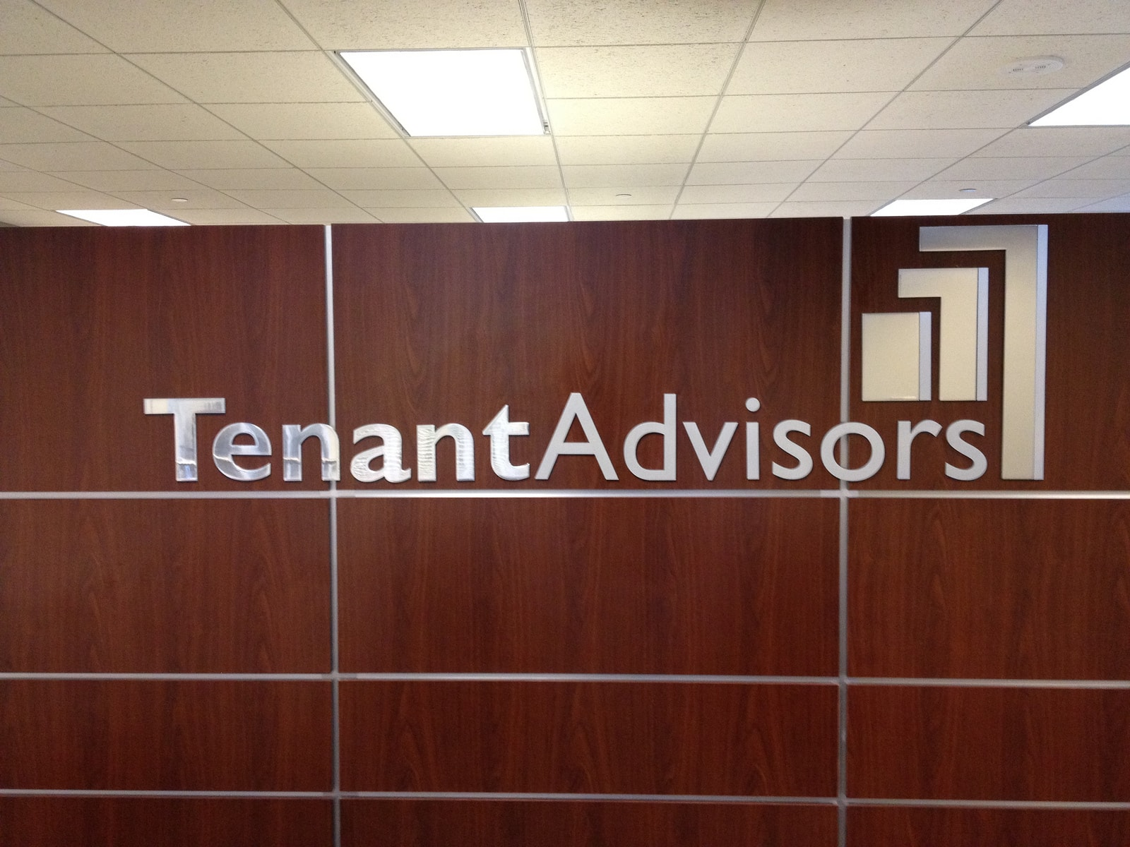Tenant Advisors Interior Sign