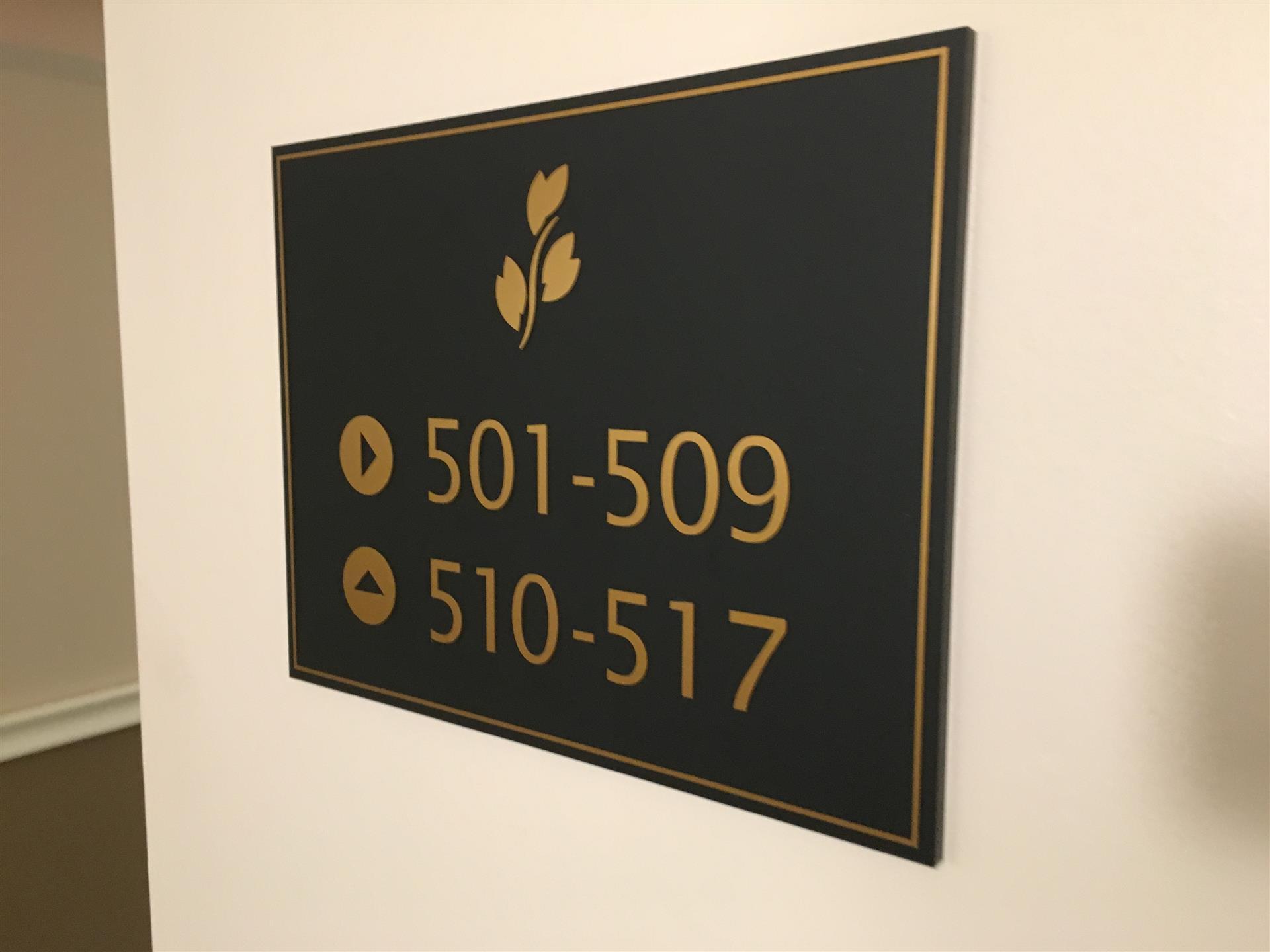ADA Directory Sign