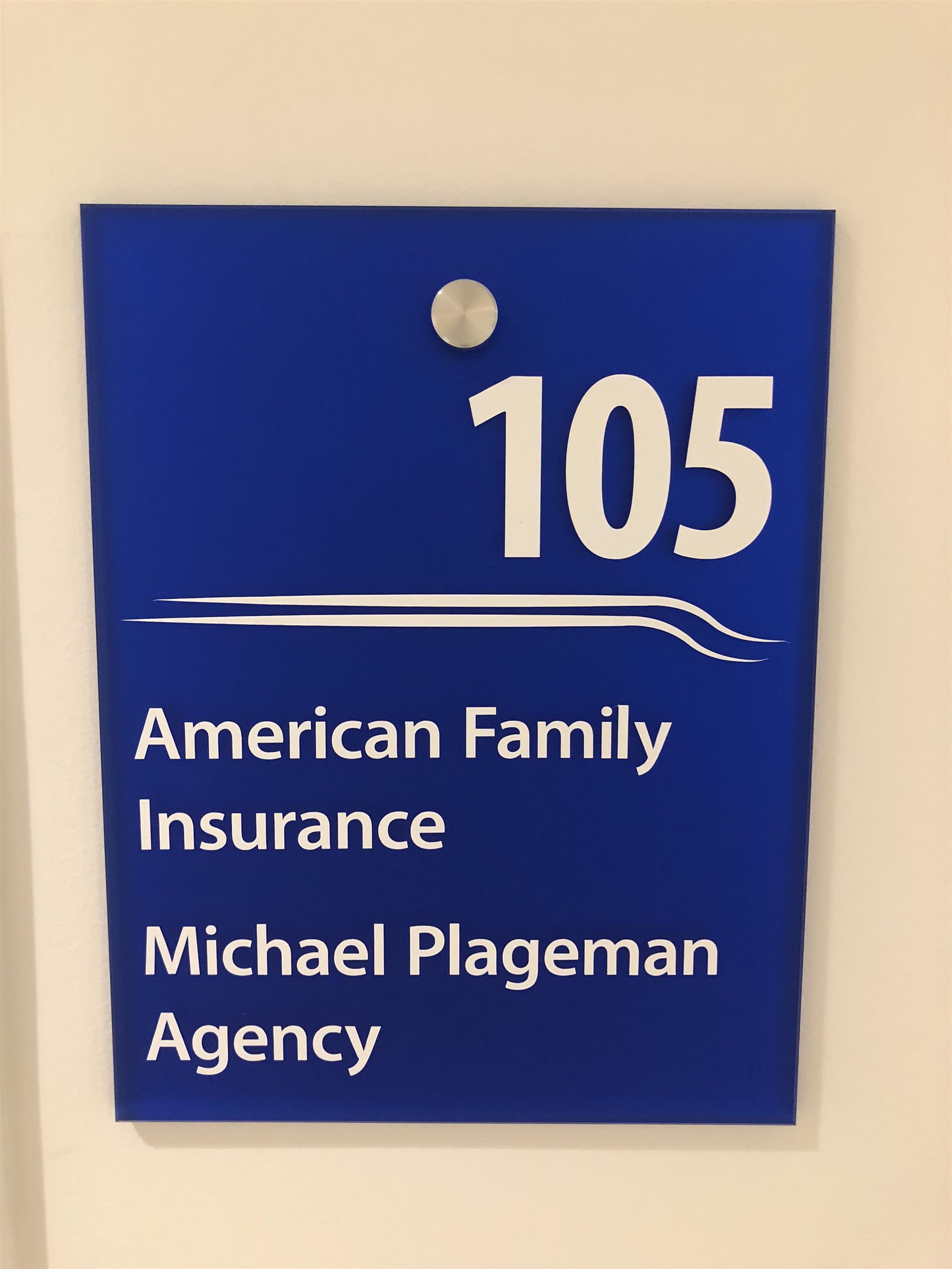 105 Directory ADA Sign