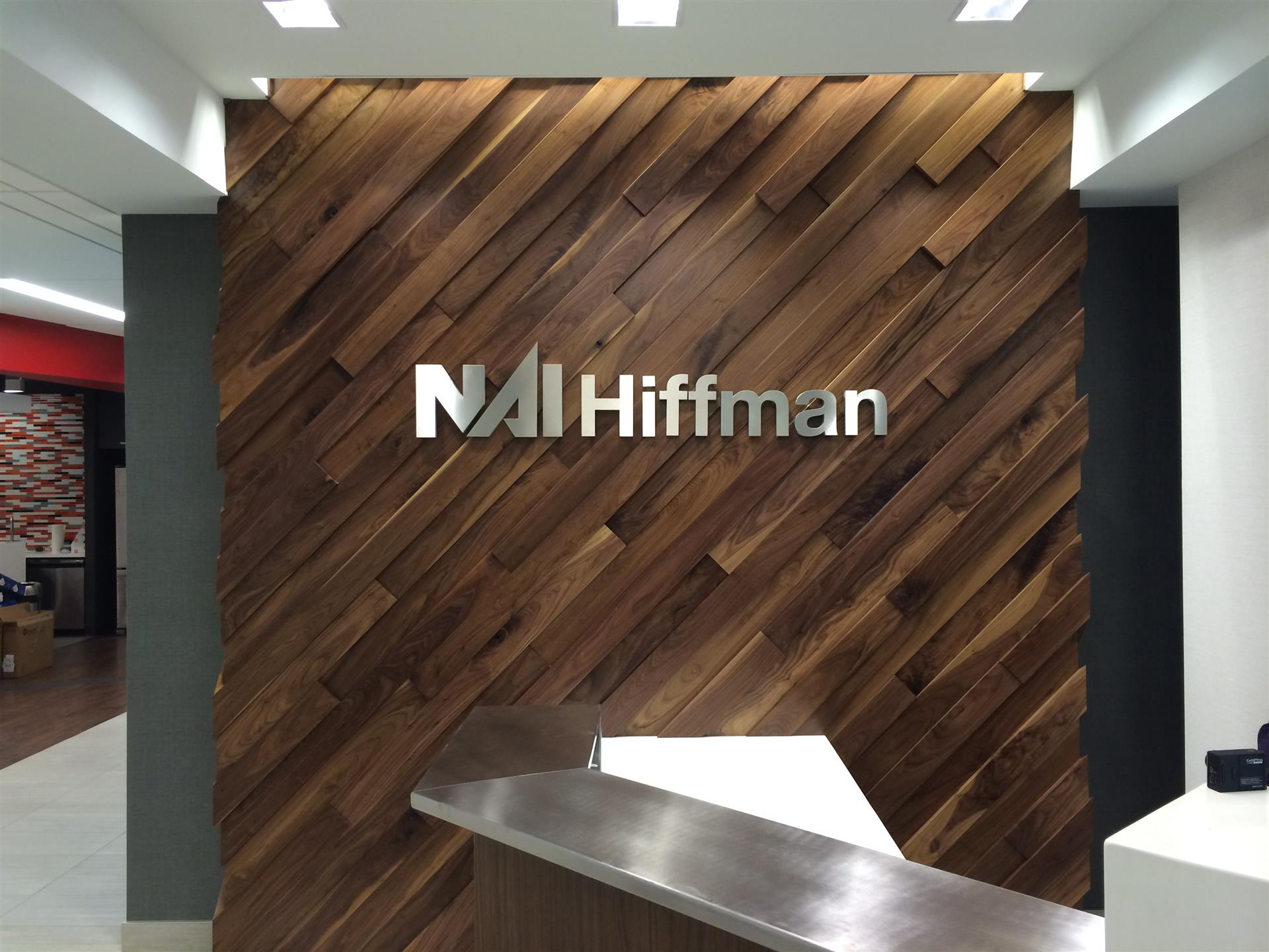 NAI Hiffman Reception Sign