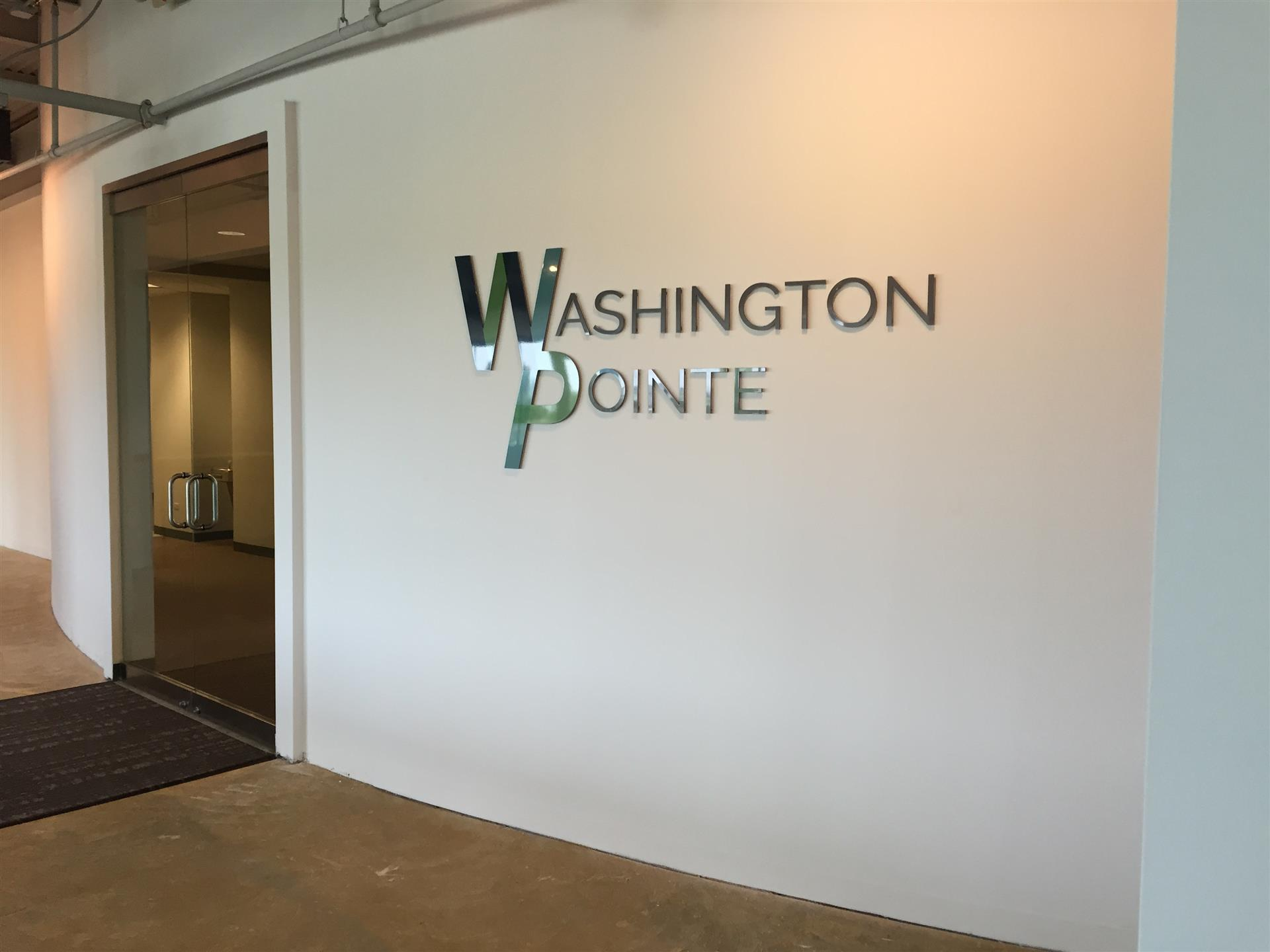Washington Pointe Lobby Sign