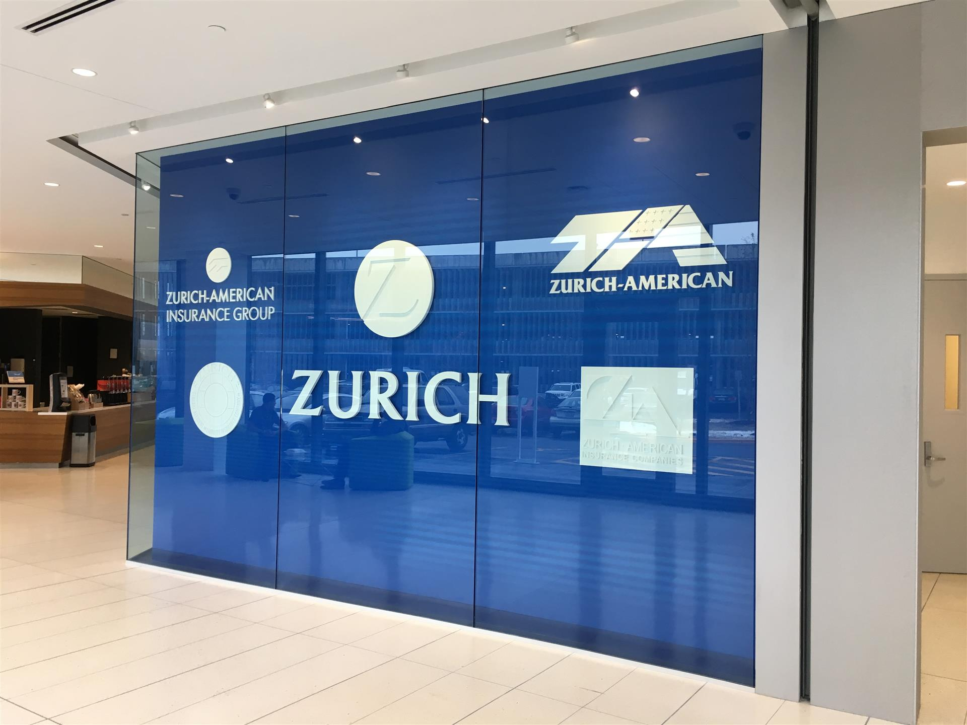 Zurich-American Insurance Group Lobby Sign