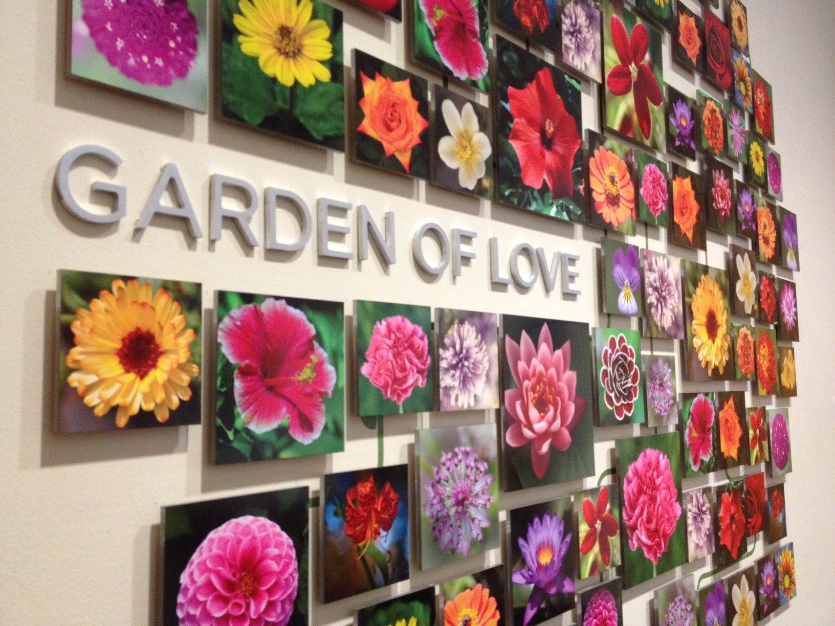 Garden of Love Lobby Sign