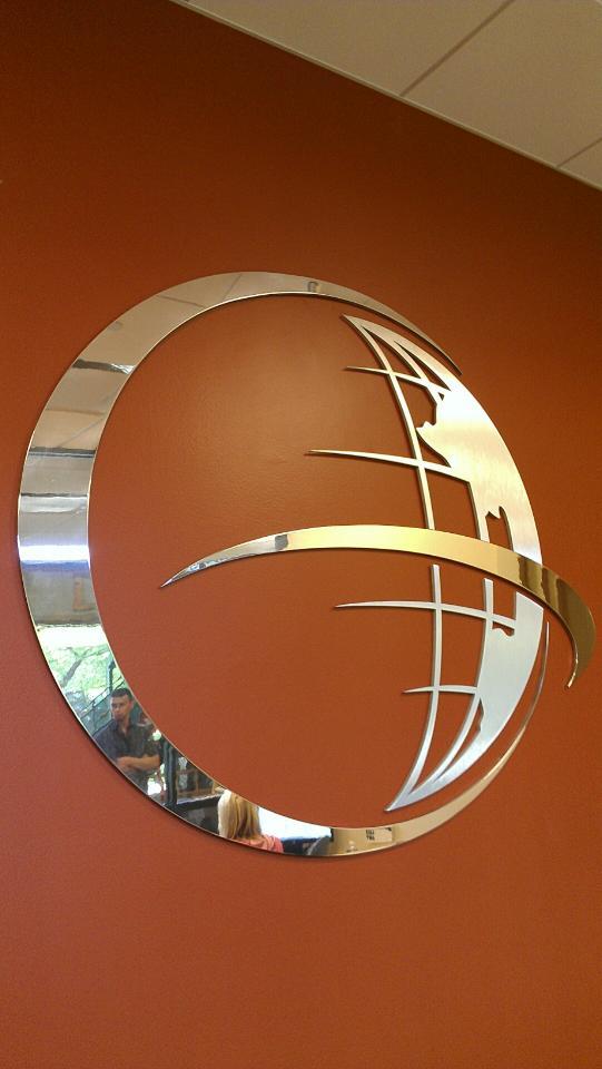 Company Logo Lobby Sign