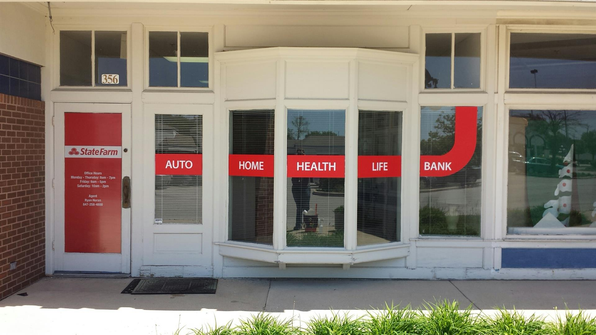 State Farm Insurance Storefront Graphic
