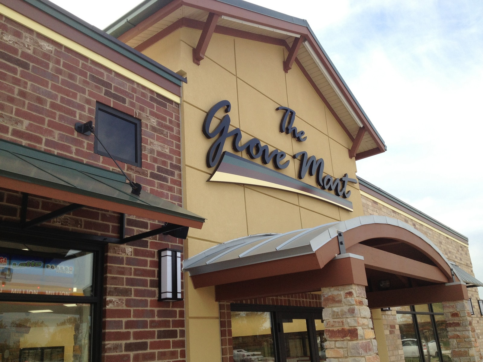 The Grove Mart Exterior Sign