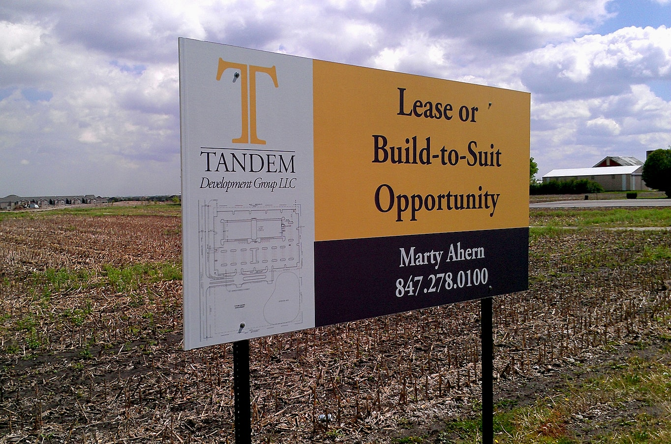 Tandem Development Group LLC Exterior Sign