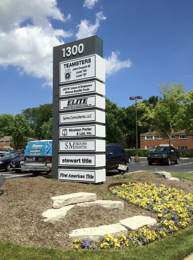 Corporate Exterior Sign