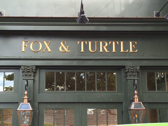 Fox & Turtle Wall Sign