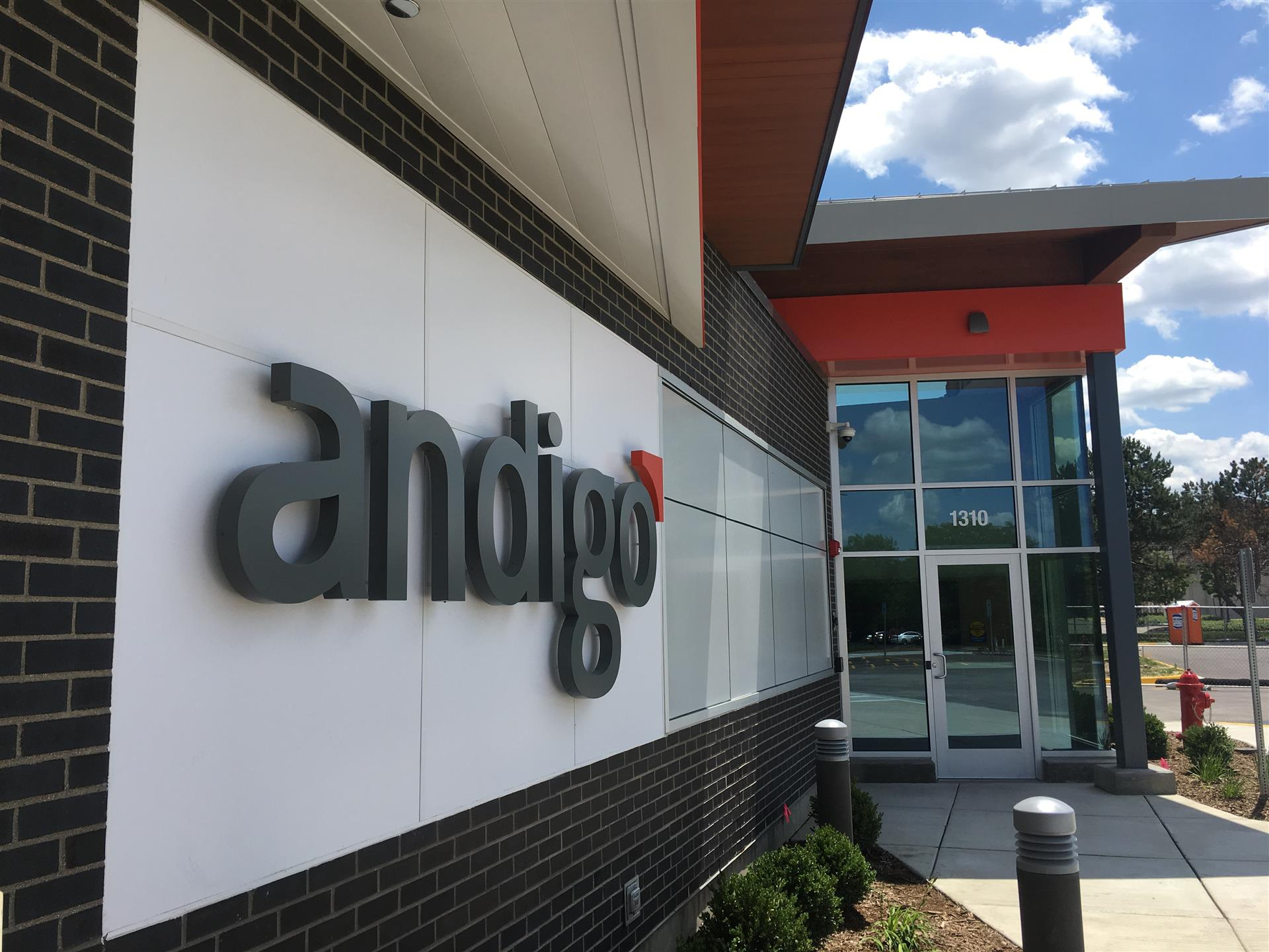 Andigo Credit Union Wall Sign