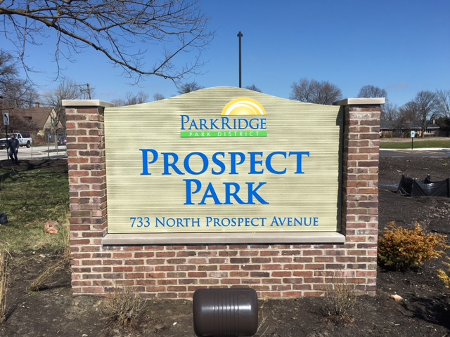 Prospect Park Ground Sign