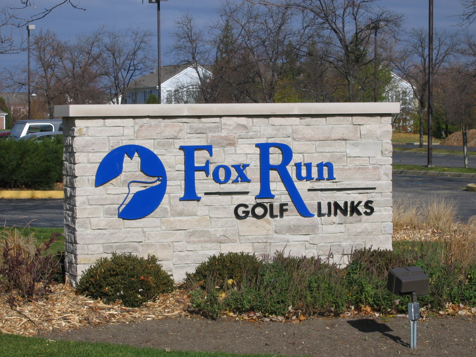 Fox Run Golf Links Monument Sign