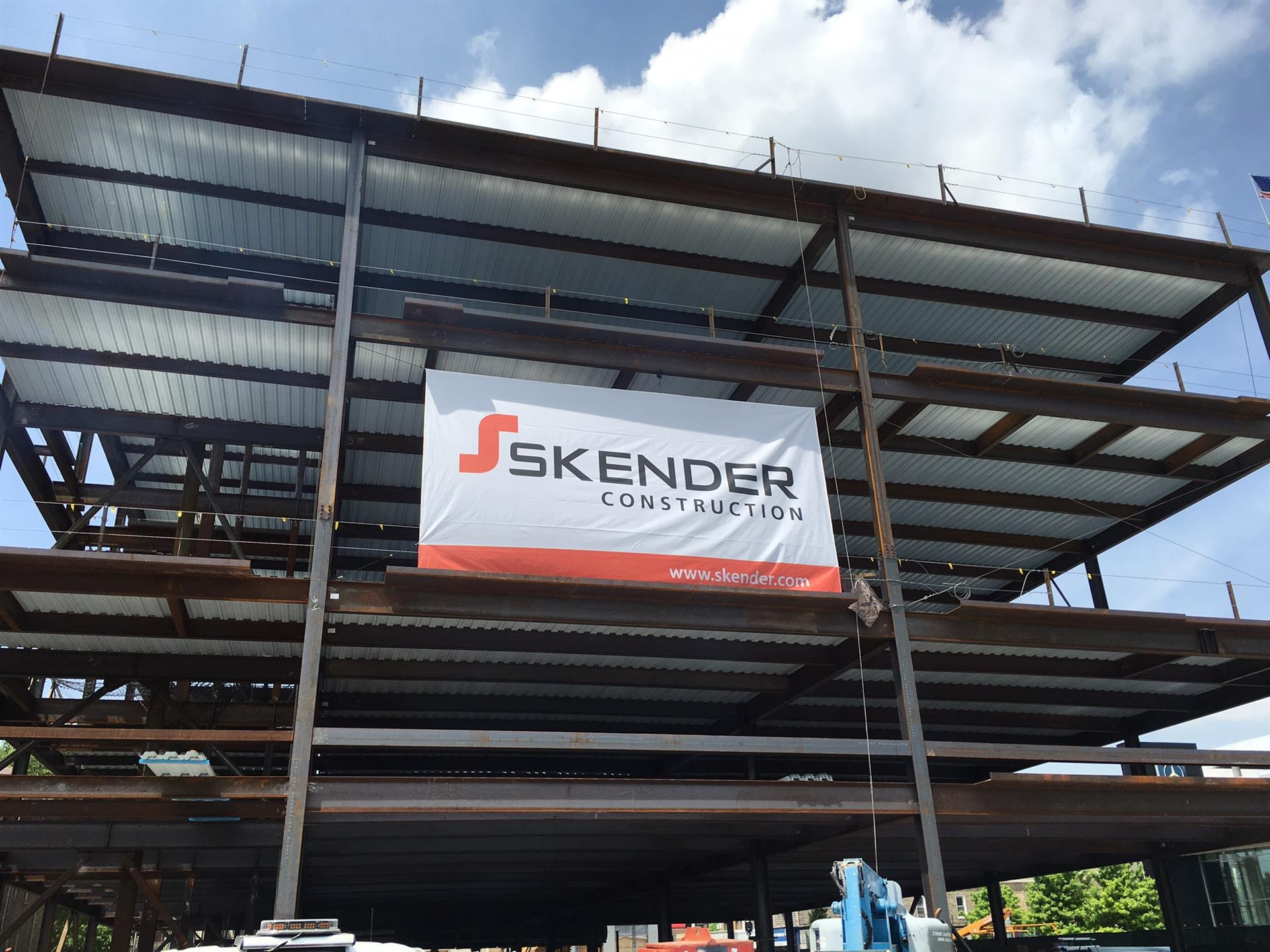Skender Construction Banner