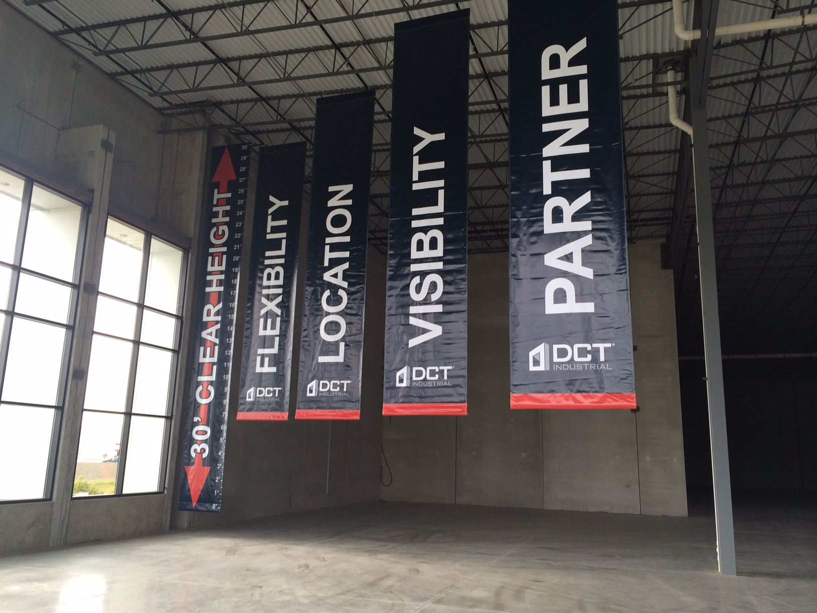 DCT Hanging Banners