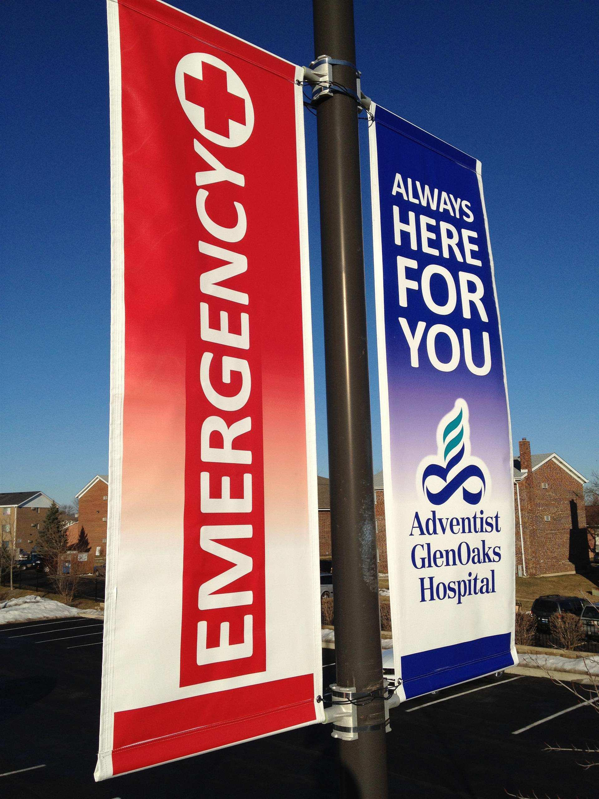 Adventist GlenOaks Hospital Banner