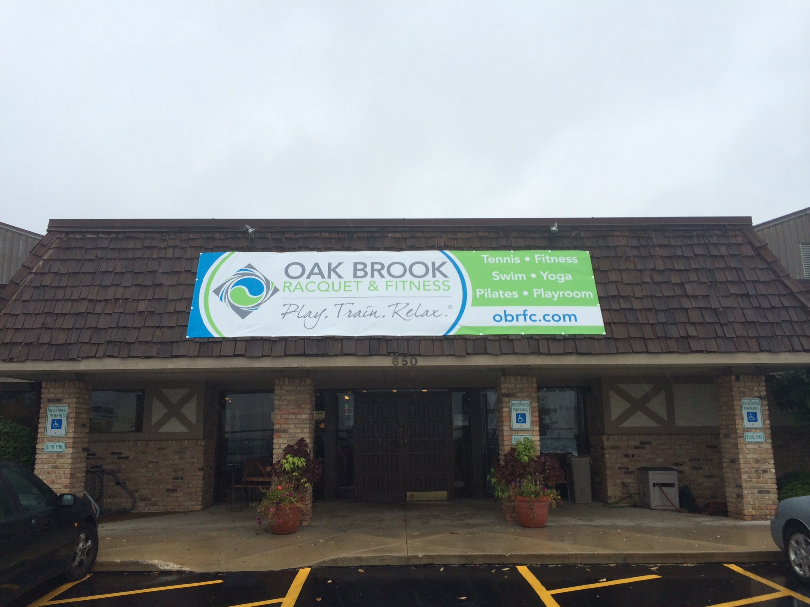 Oak Brook Racquet & Fitness Banner