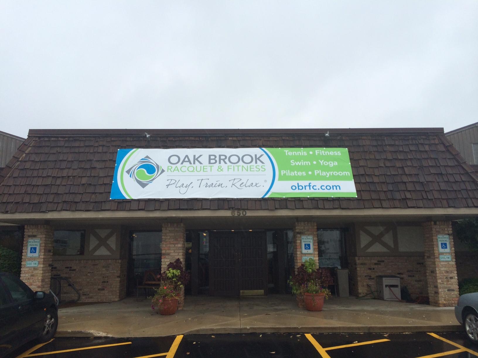 Oak Brook Racquet & Fitness Banner