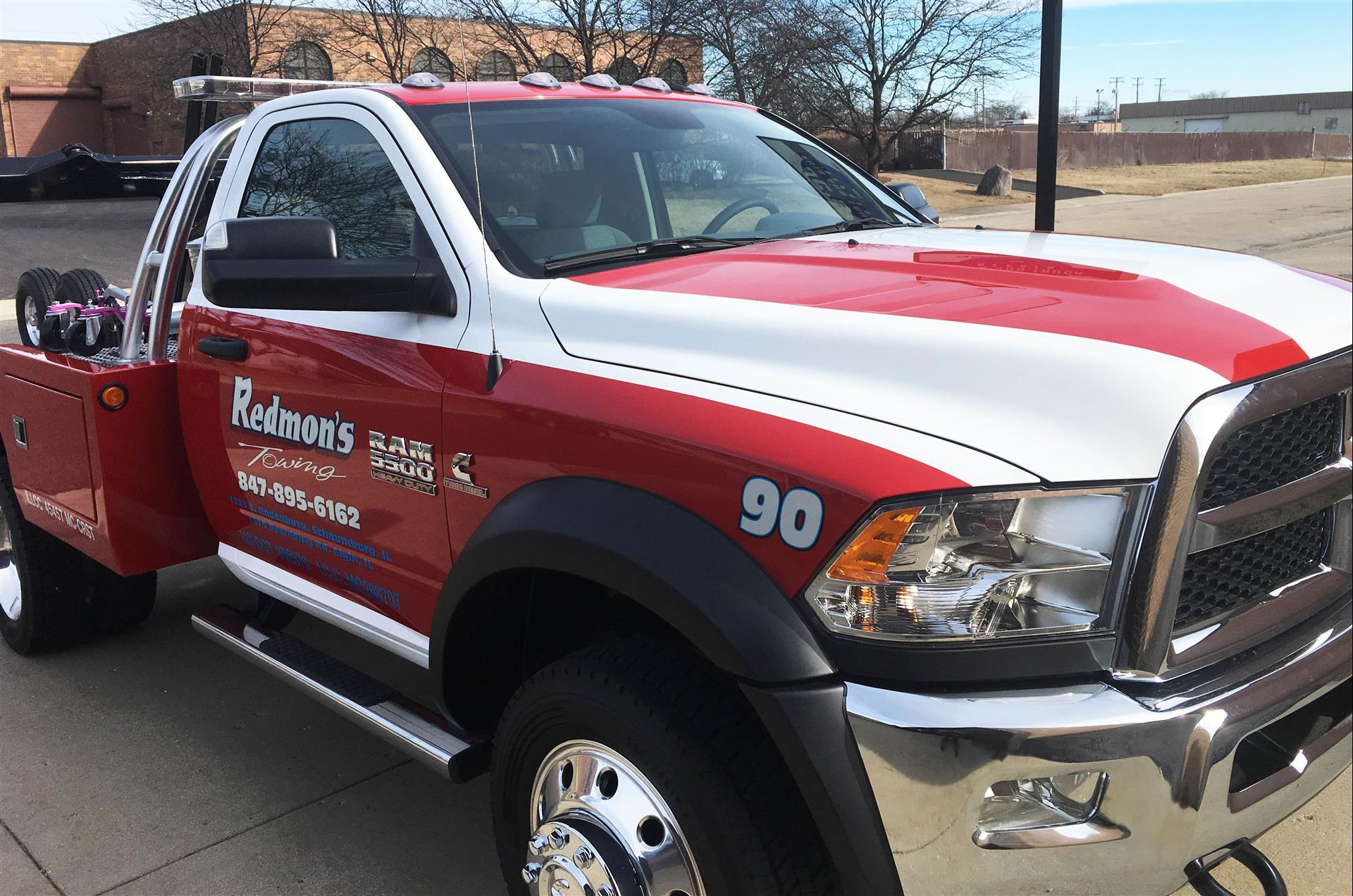 Redmon's Truck Wrap