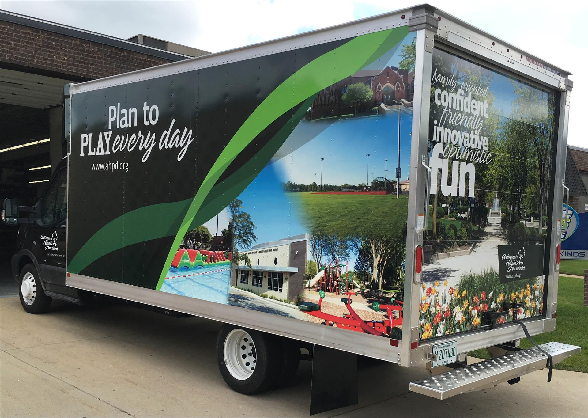 Arlington Heights Park District Vehicle Wrap