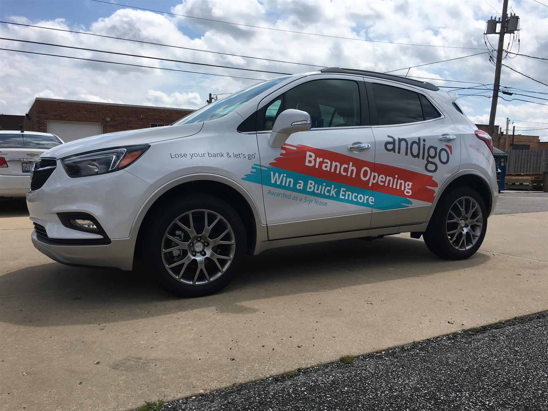 Andigo Vehicle Wrap