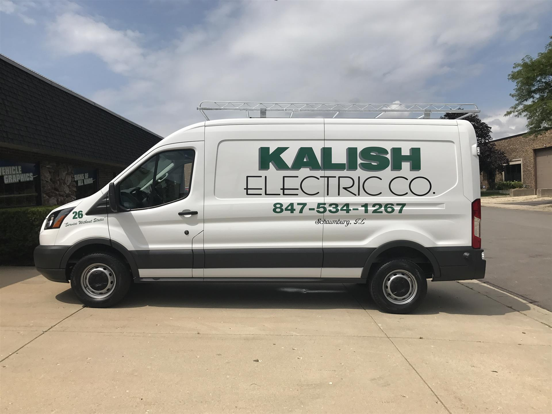 Kalish Electric Co. Vehicle Wrap