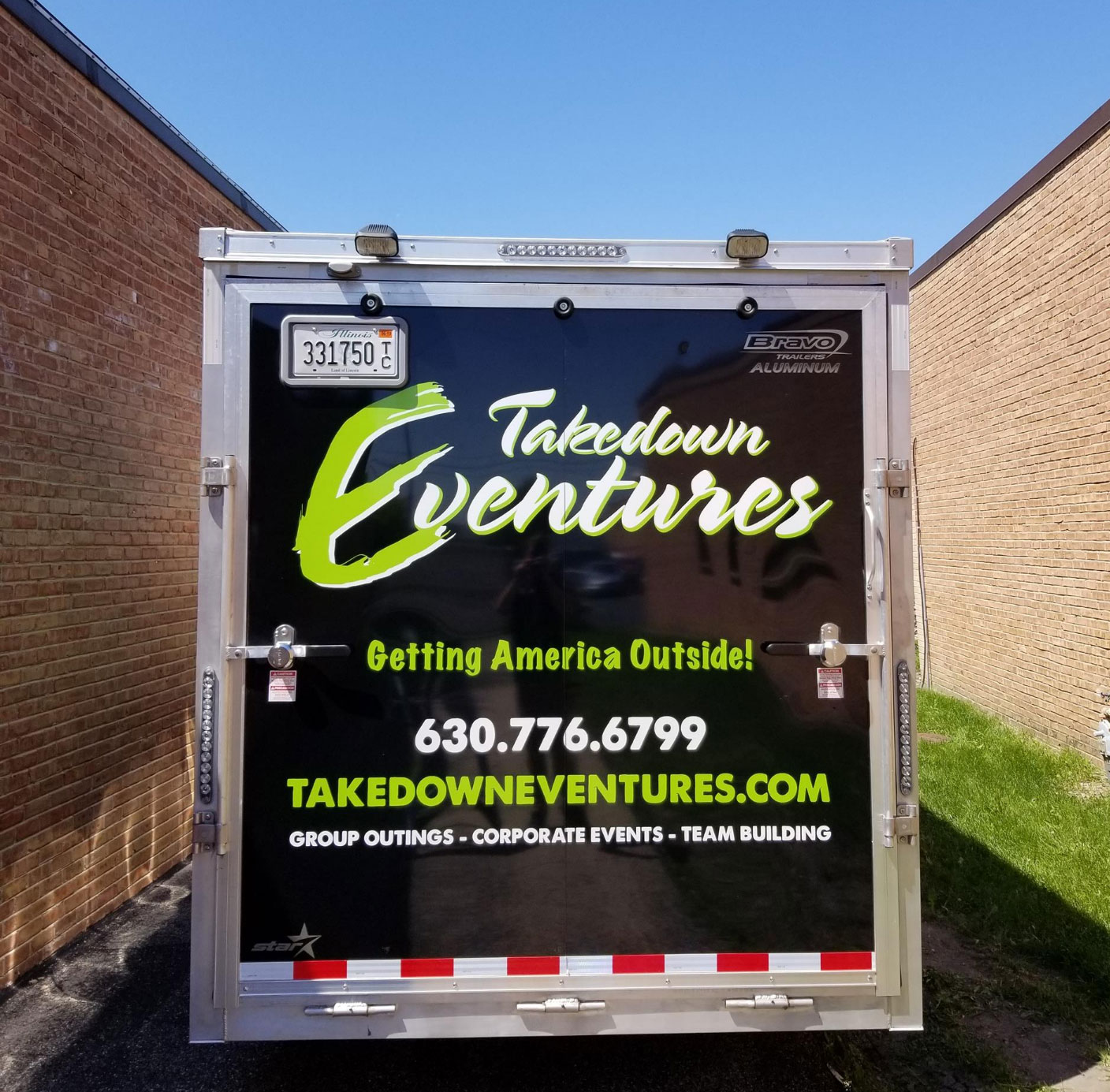 Takedown Eventures Truck Sign