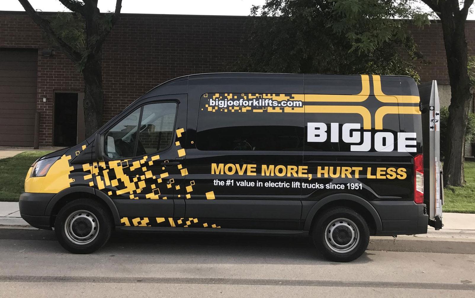 Big Joe Vehicle Wrap