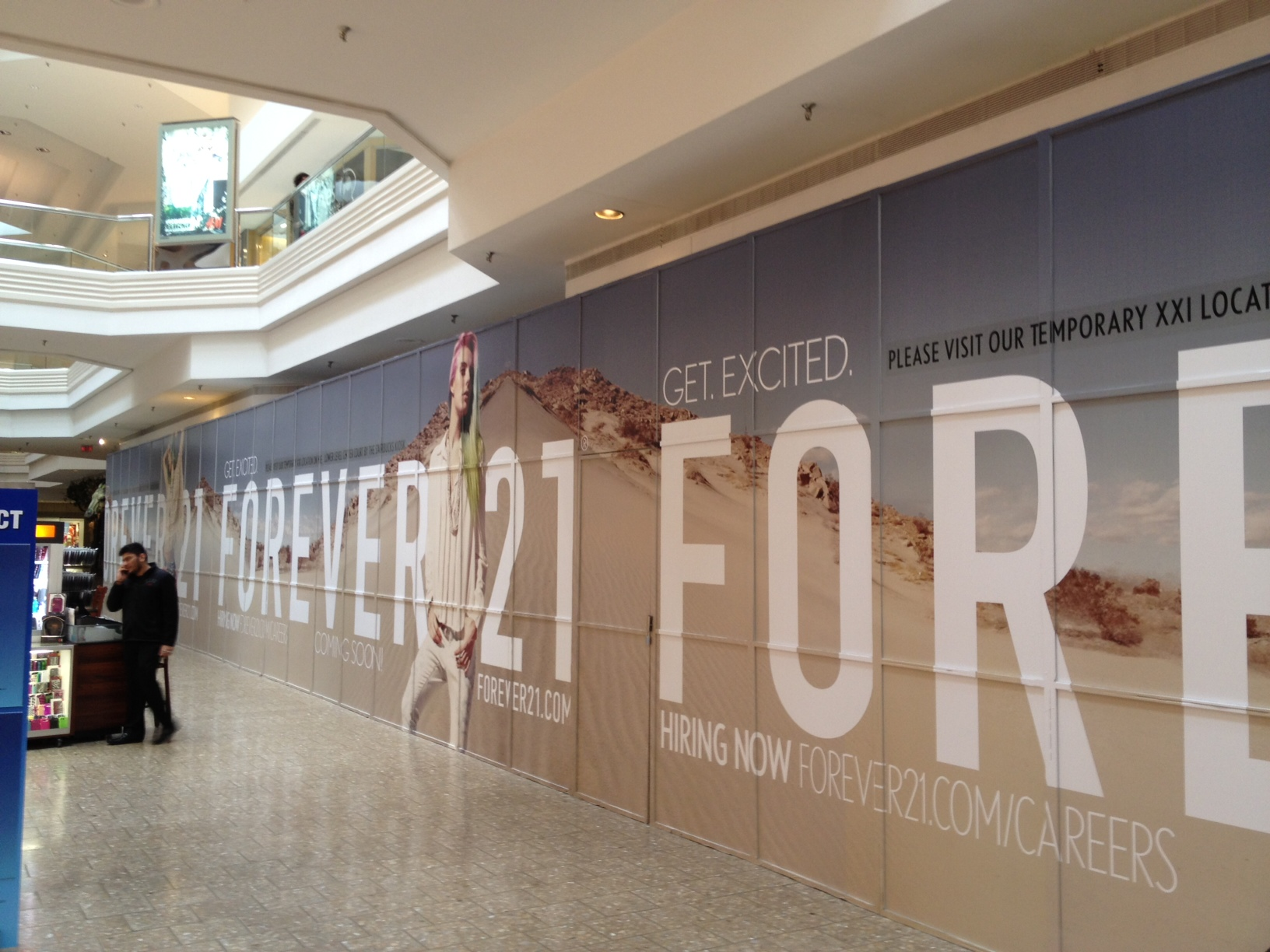 Forever 21 Wall Sign