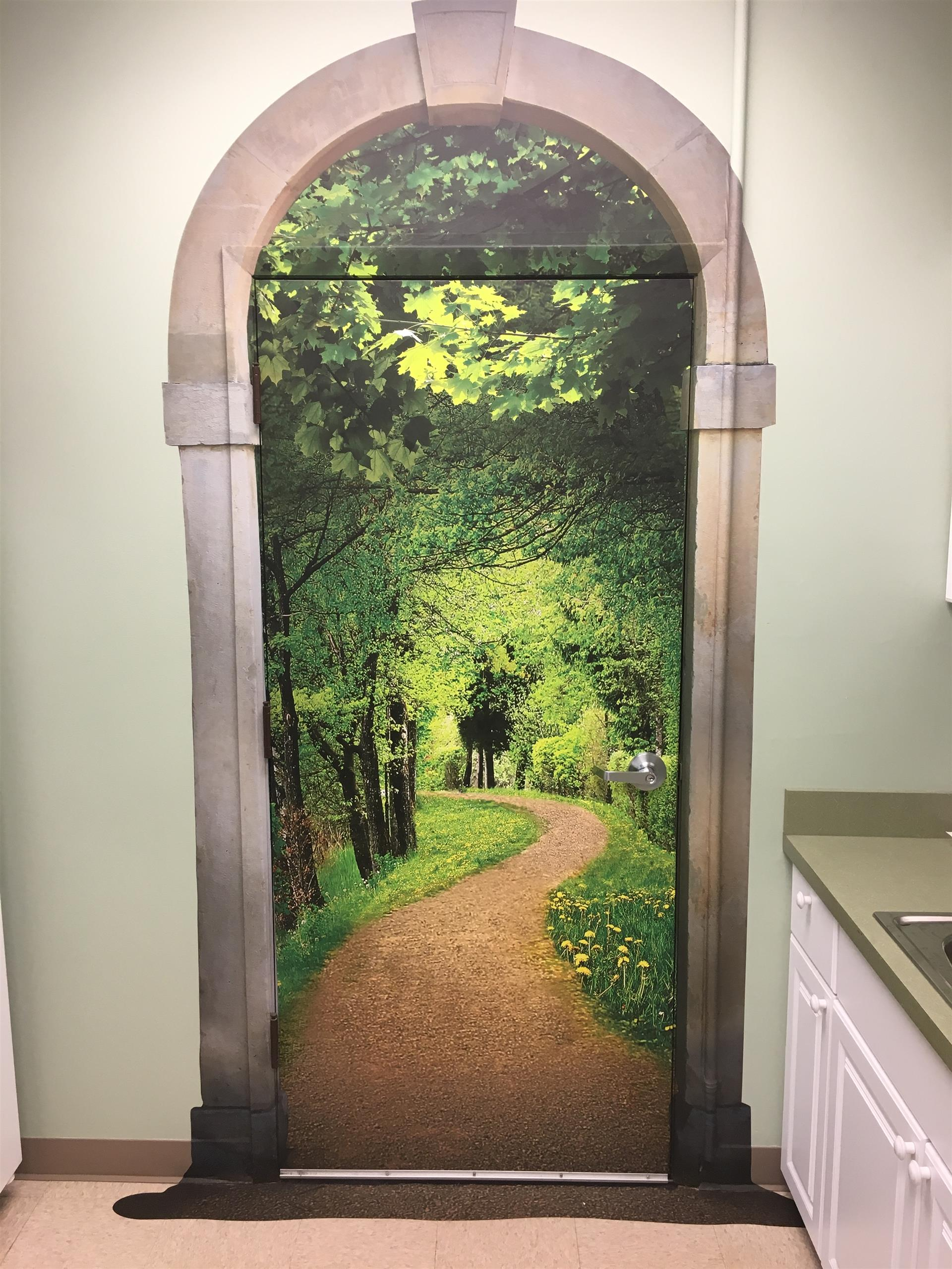 Nature Trail Wall Sign