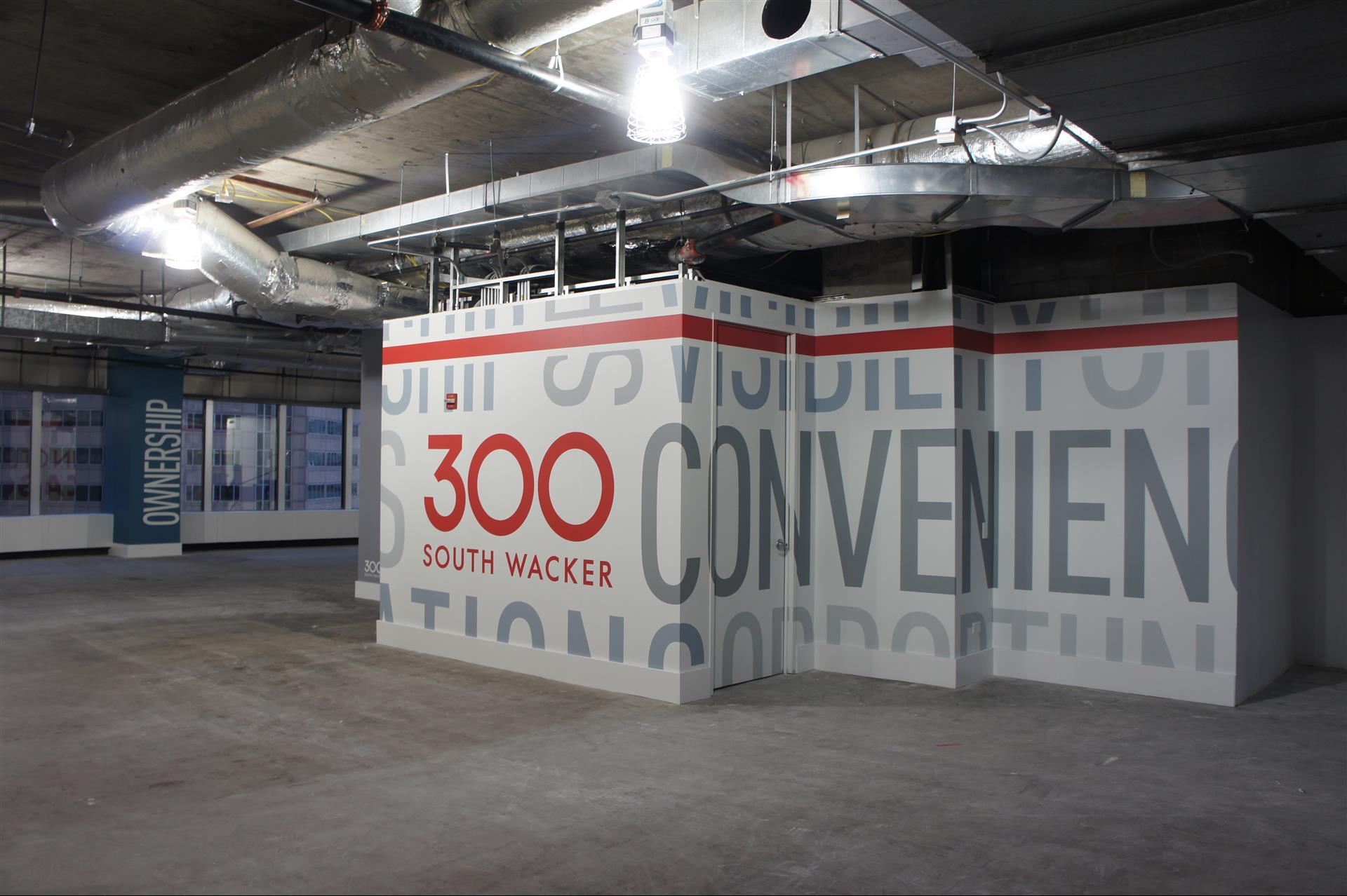 300 South Wacker Wall Sign