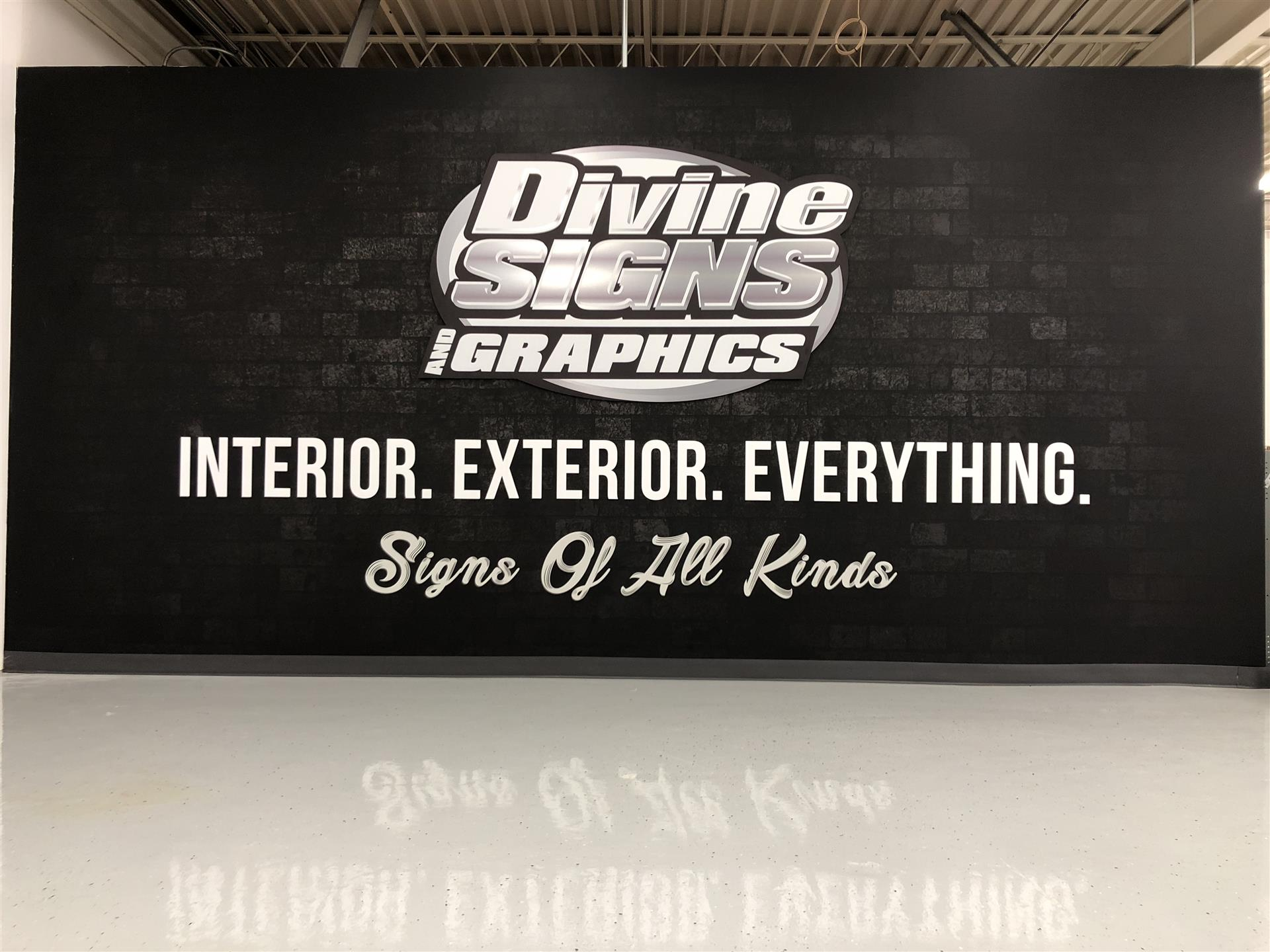 Divine Signs and Graphics Wall Signs