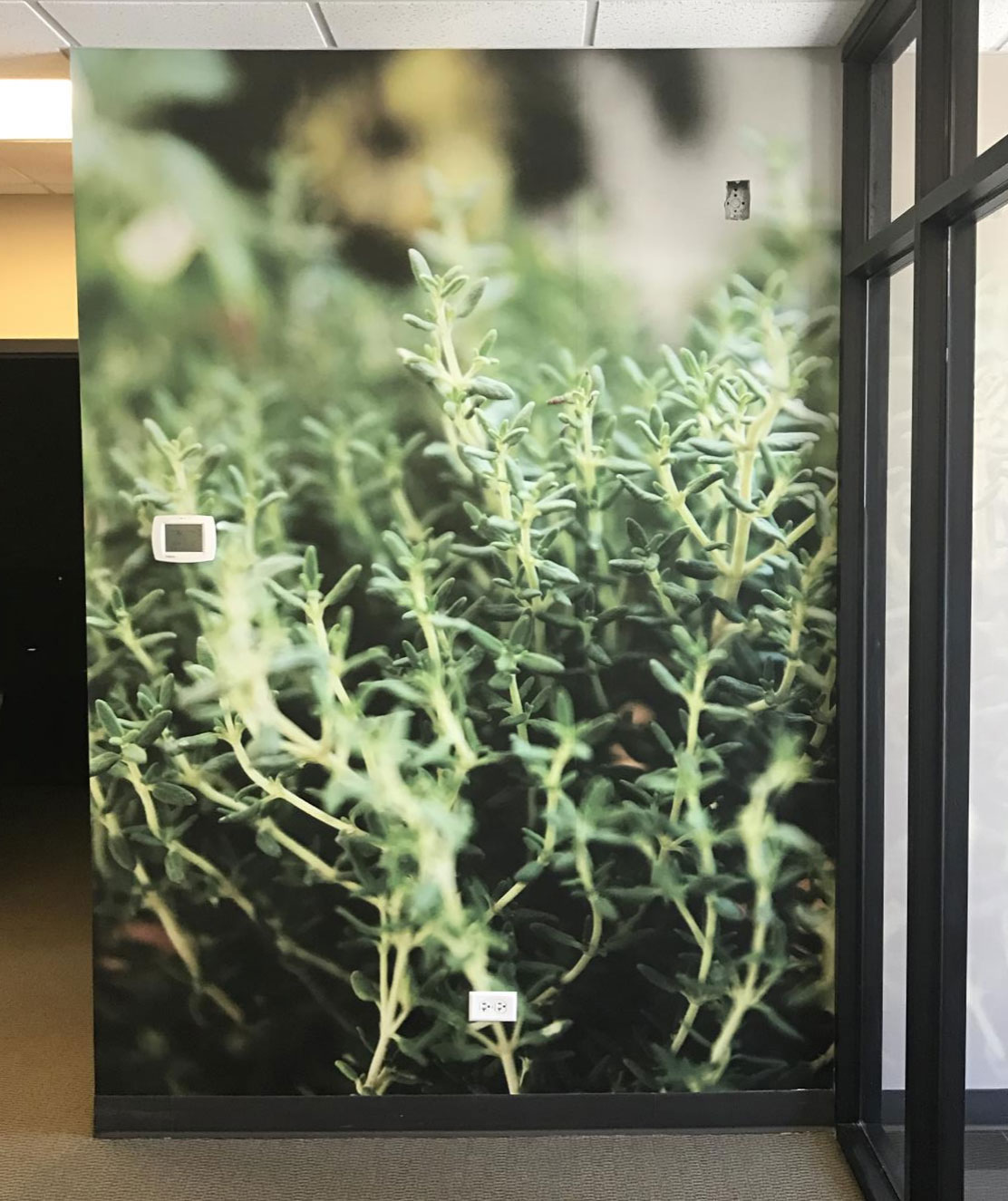 Nature Plant Wall Sign