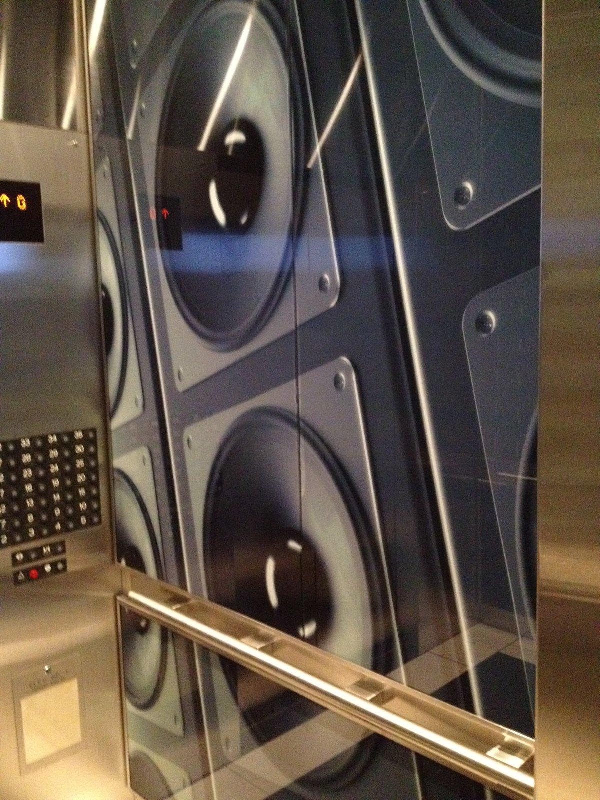 Speaker Elevator Wrap