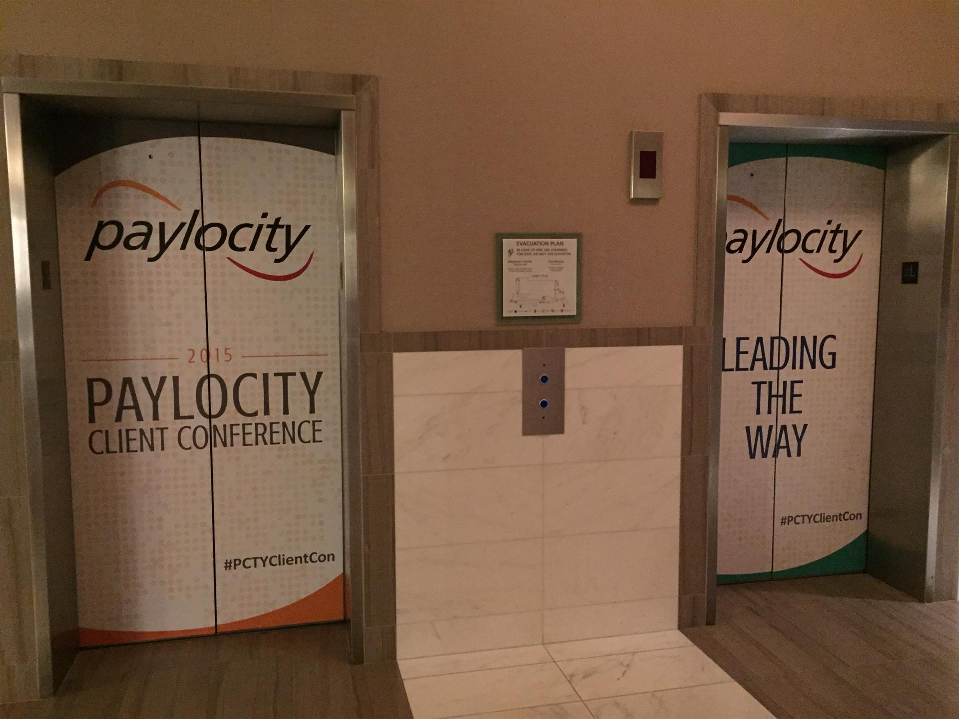 Paylocity Elevator Wraps