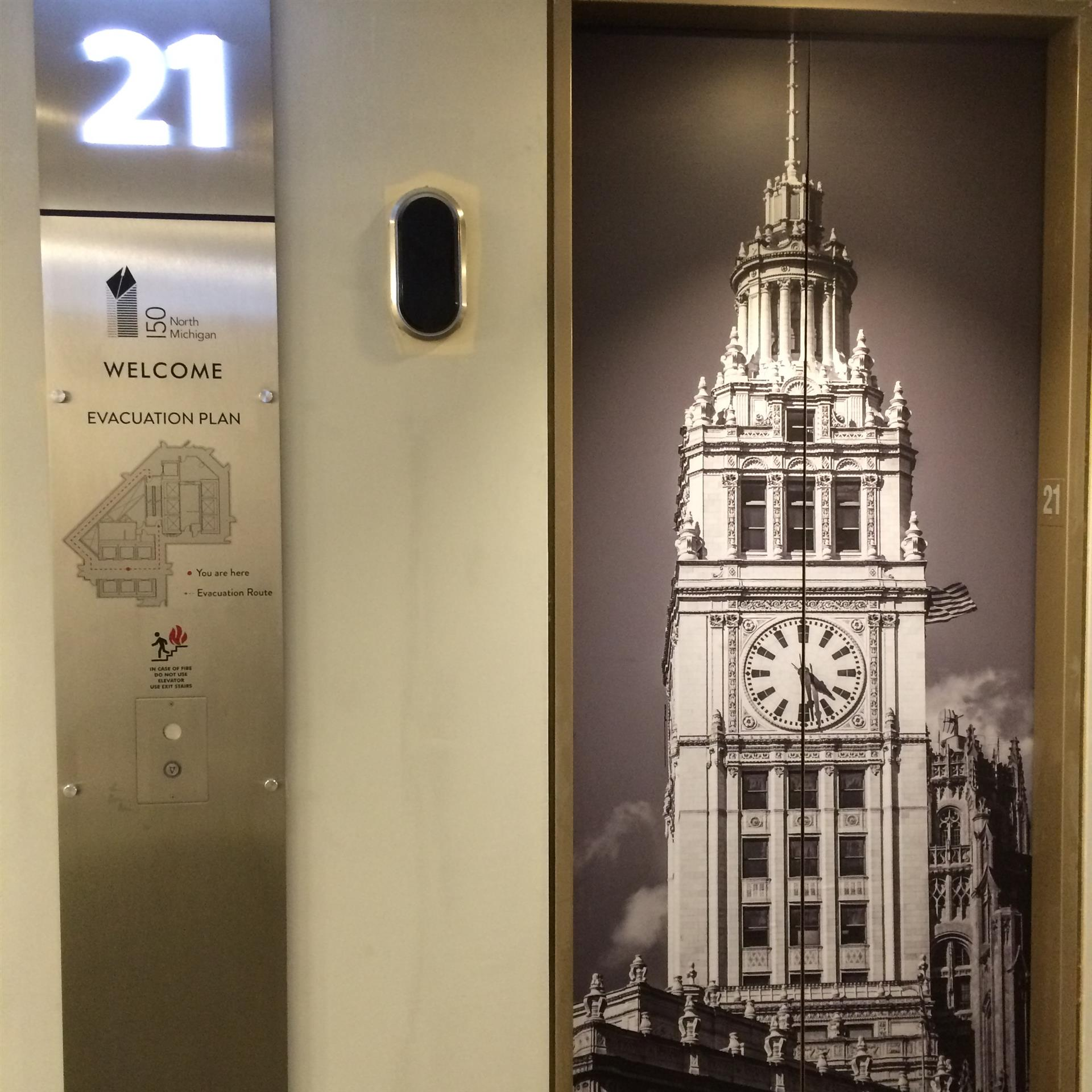 Building Elevator Wrap