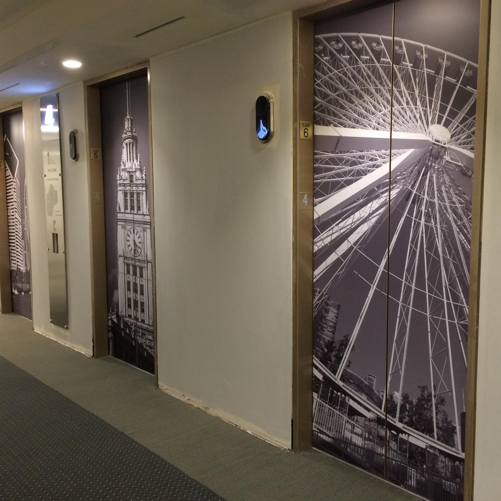 Chicago Elevator Wraps