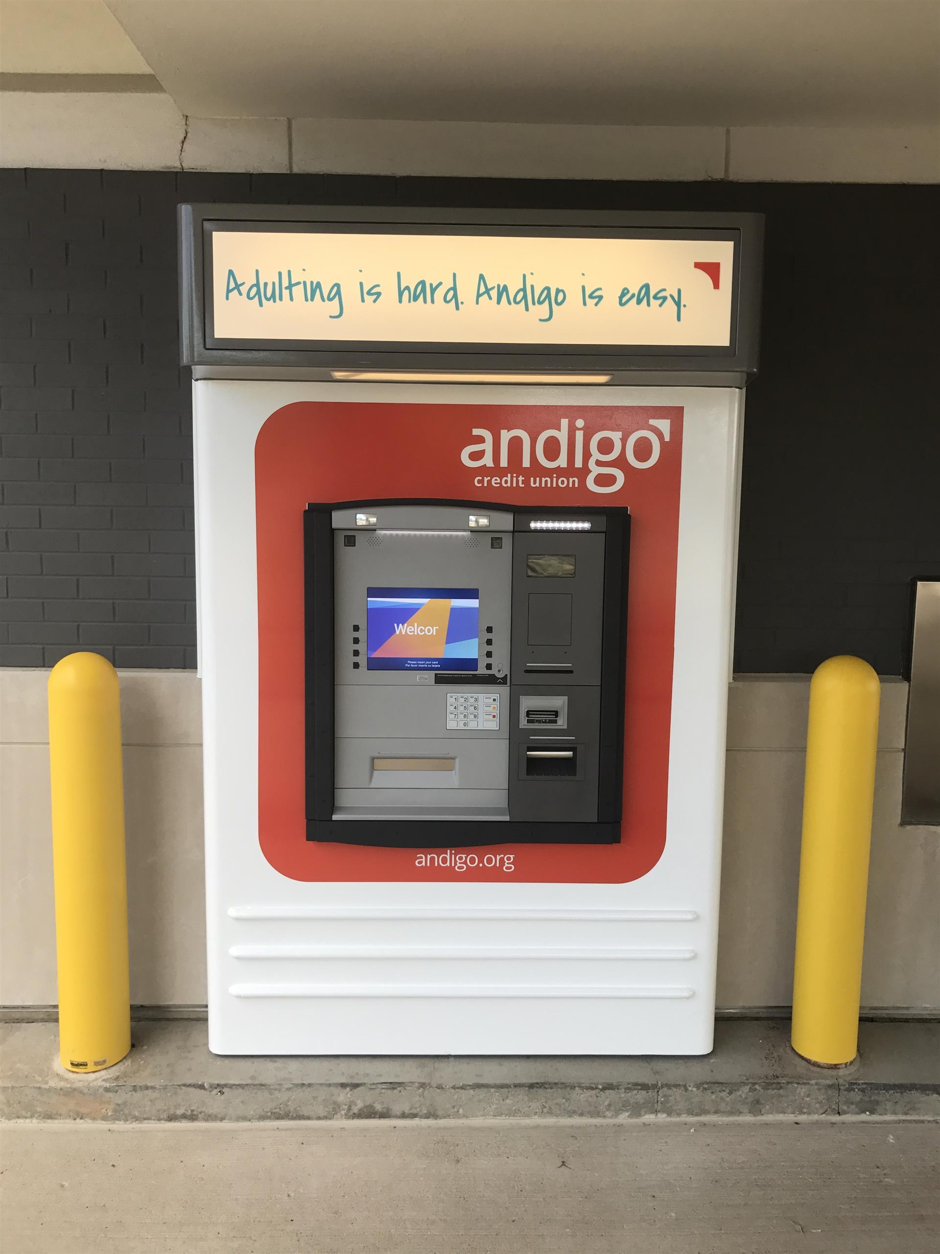 Andigo ATM Sign
