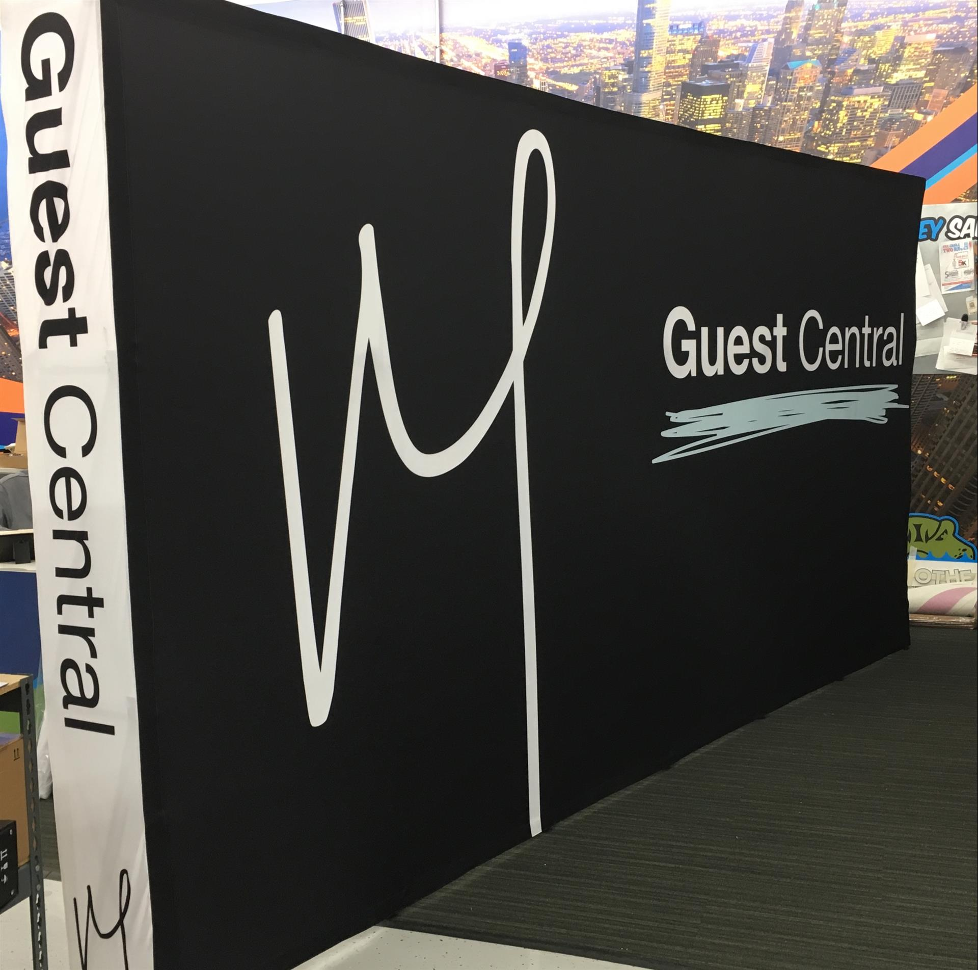 Guest Central Trade Show Display